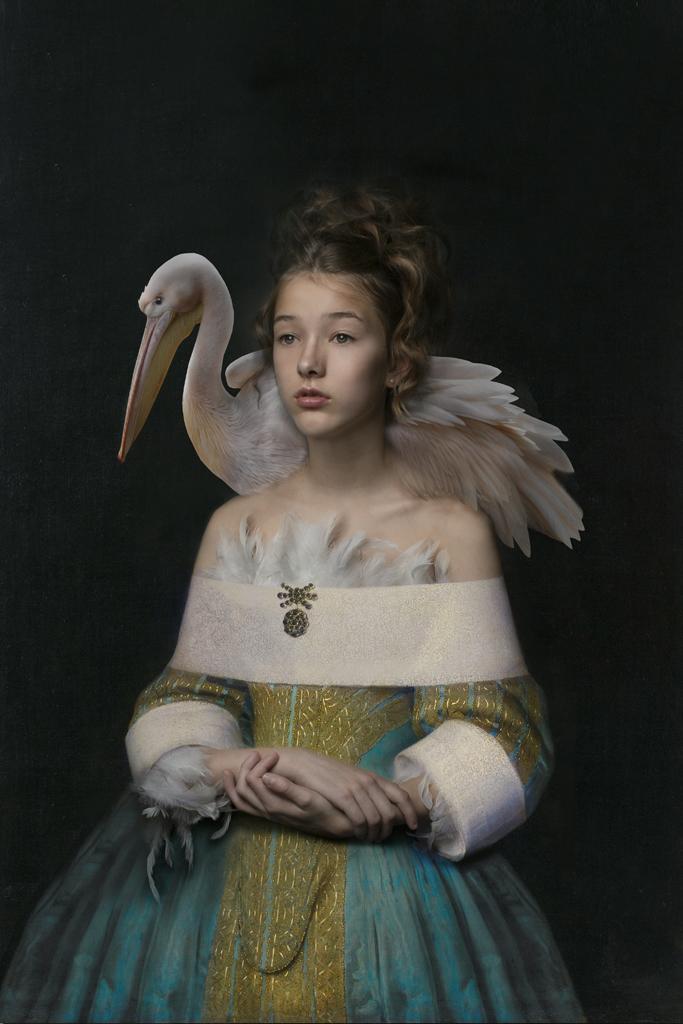 Kunst: Pelican Muse van kunstenaar Kaat Stieber