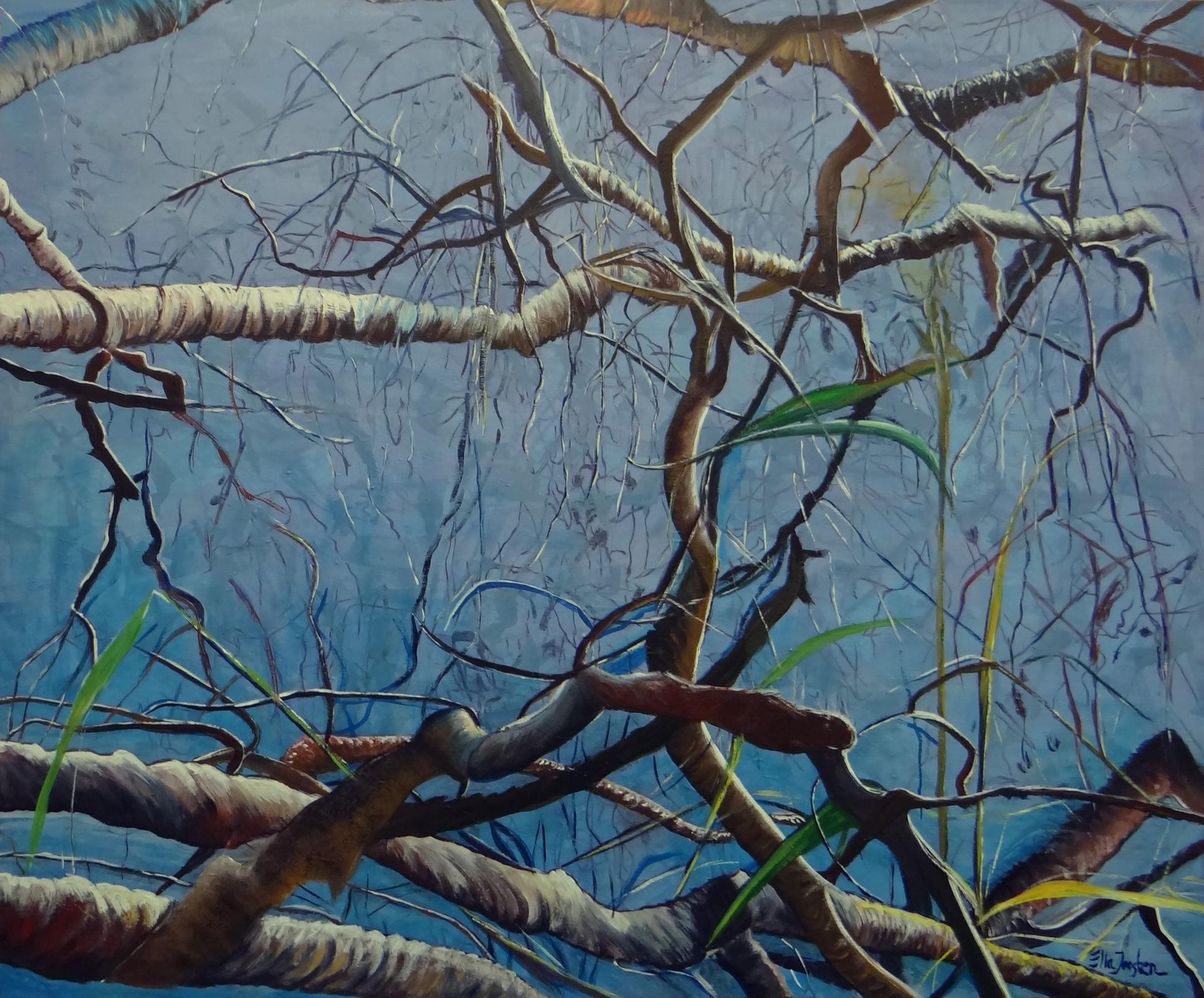 Kunst: Reflection 9 van kunstenaar Ella Joosten
