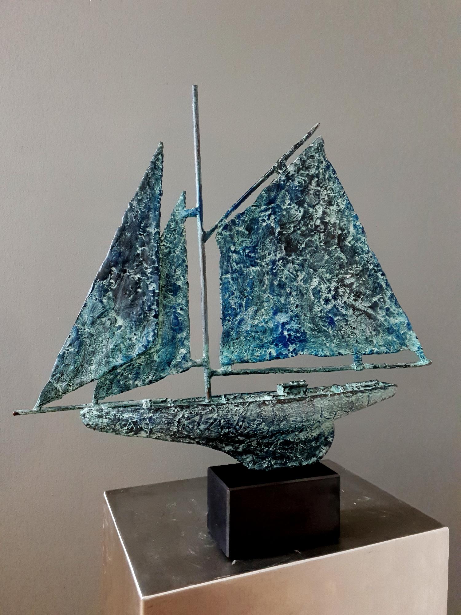 Kunst: Sail 3 van kunstenaar Angelique Cremers