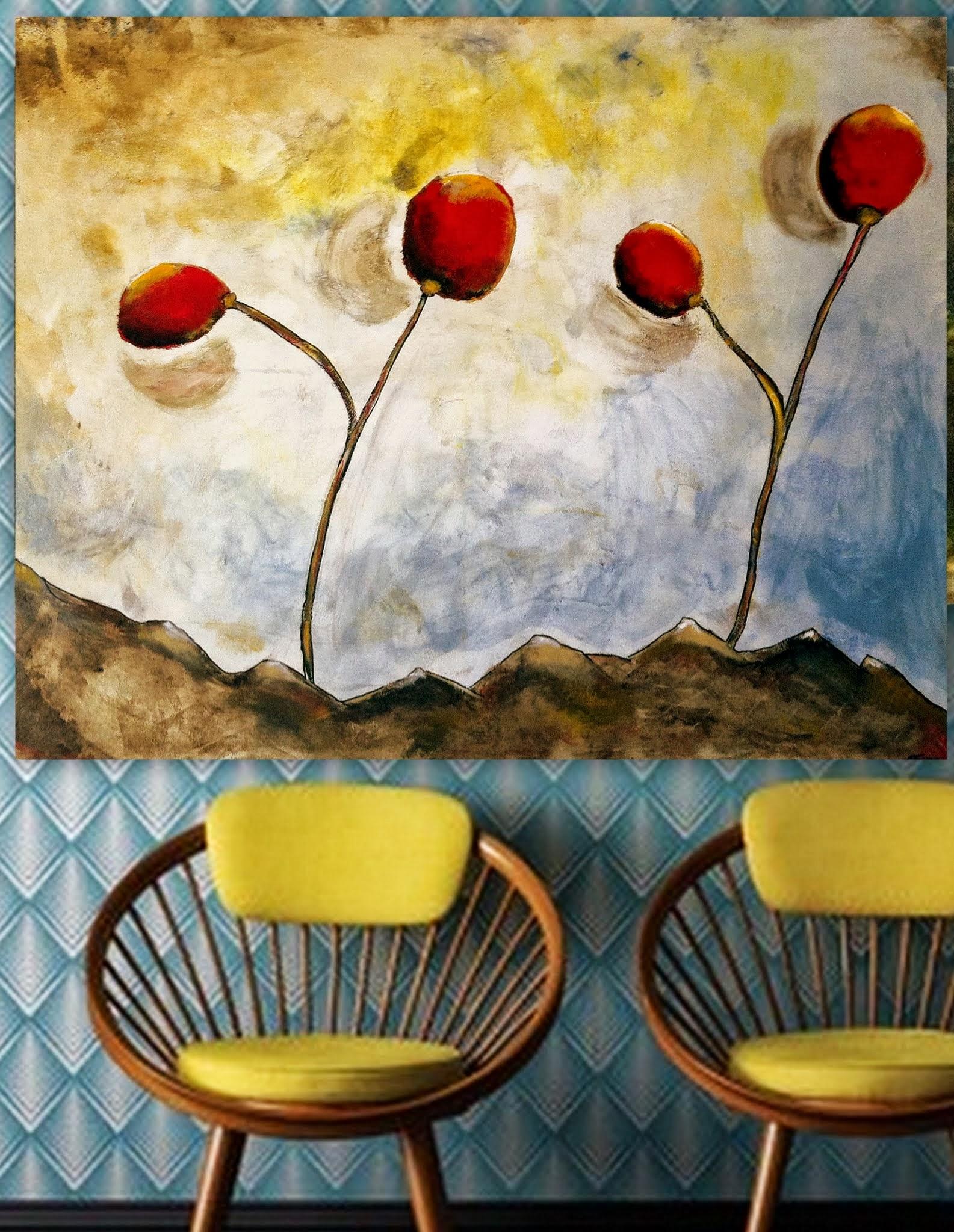 Kunst: sherry van kunstenaar Carla Broeckx
