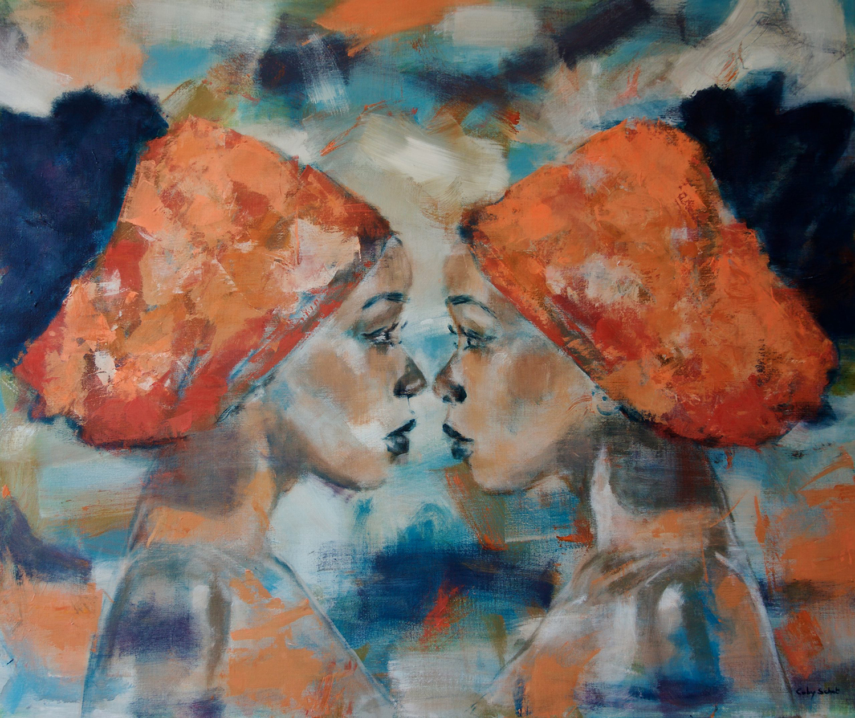 Kunst: Sisters van kunstenaar Coby Schot