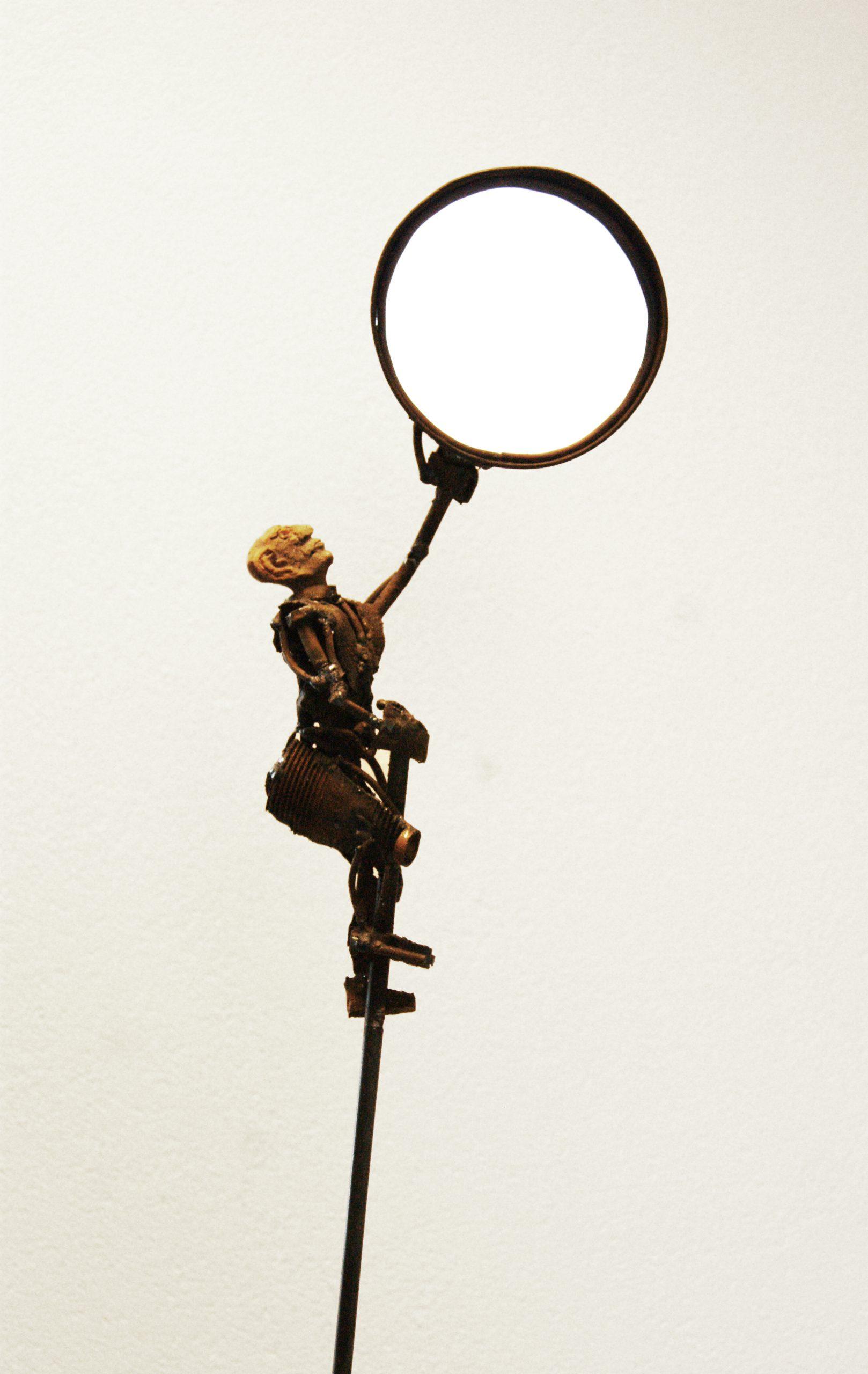 Kunst: Sunny side up van kunstenaar Jan Verschueren