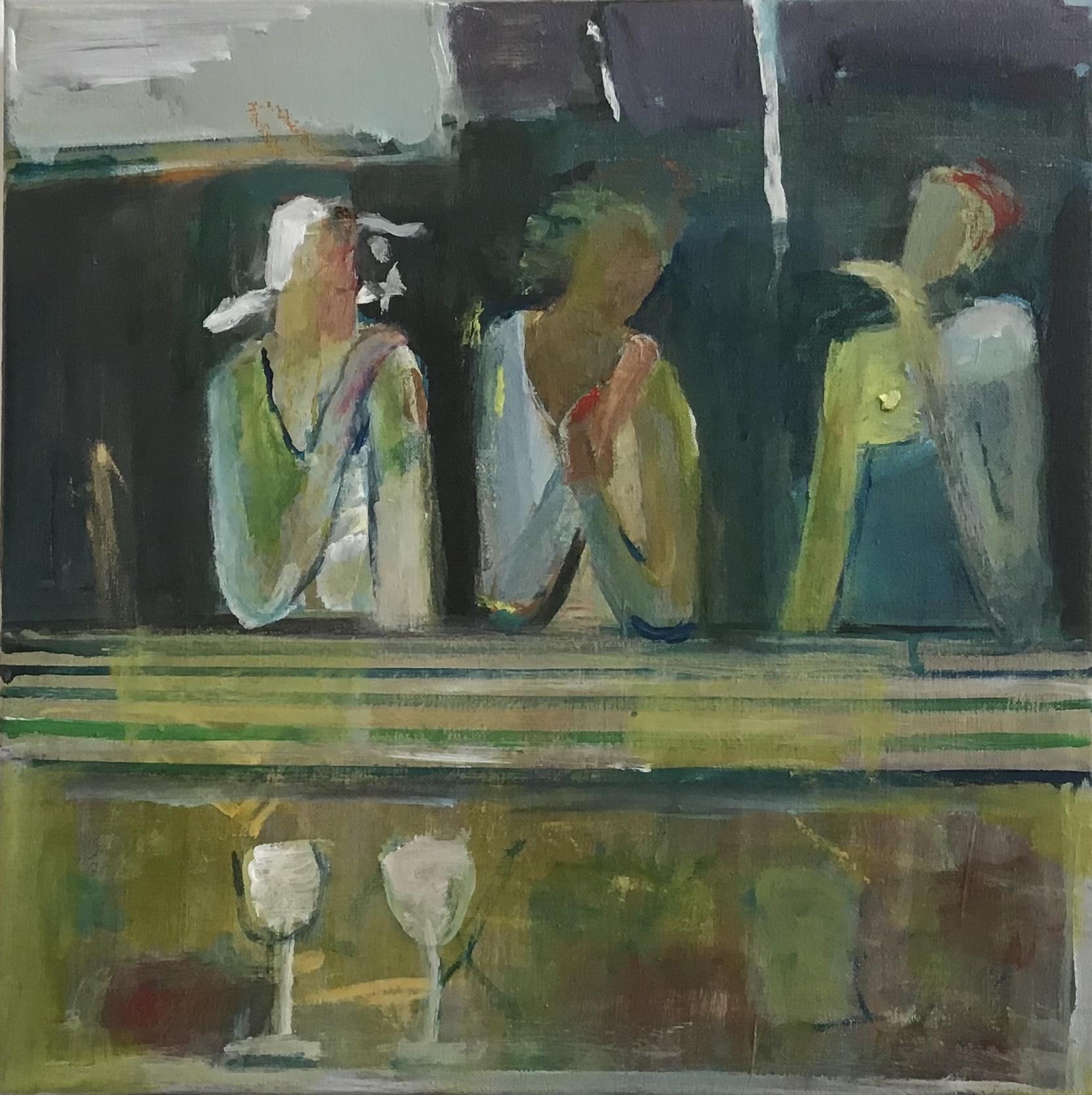 Kunst: Vriendin w van kunstenaar Heleen Wilke