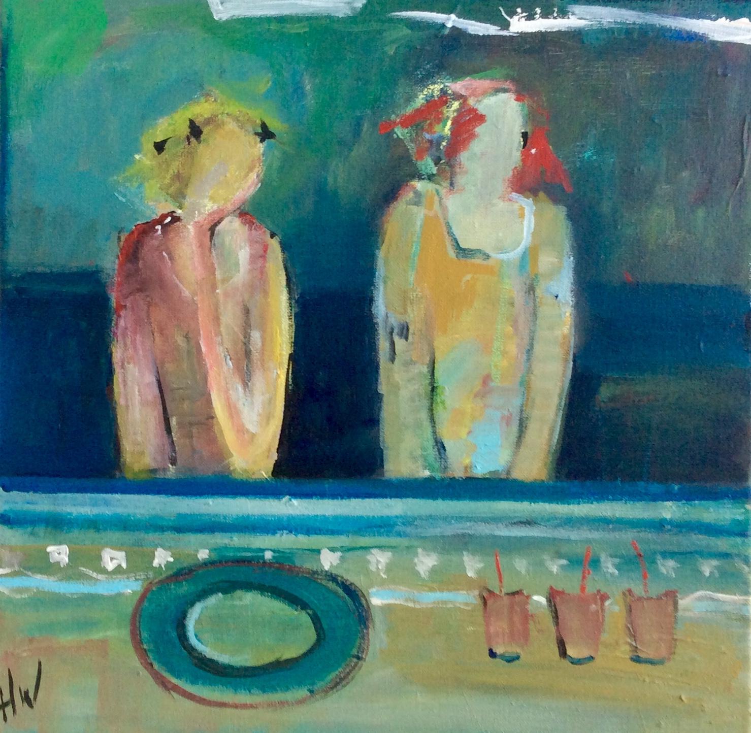 Kunst: Vriendin1 van kunstenaar Heleen Wilke