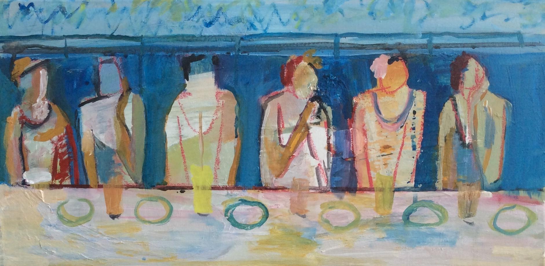 Kunst: Vriendinnen van kunstenaar Heleen Wilke