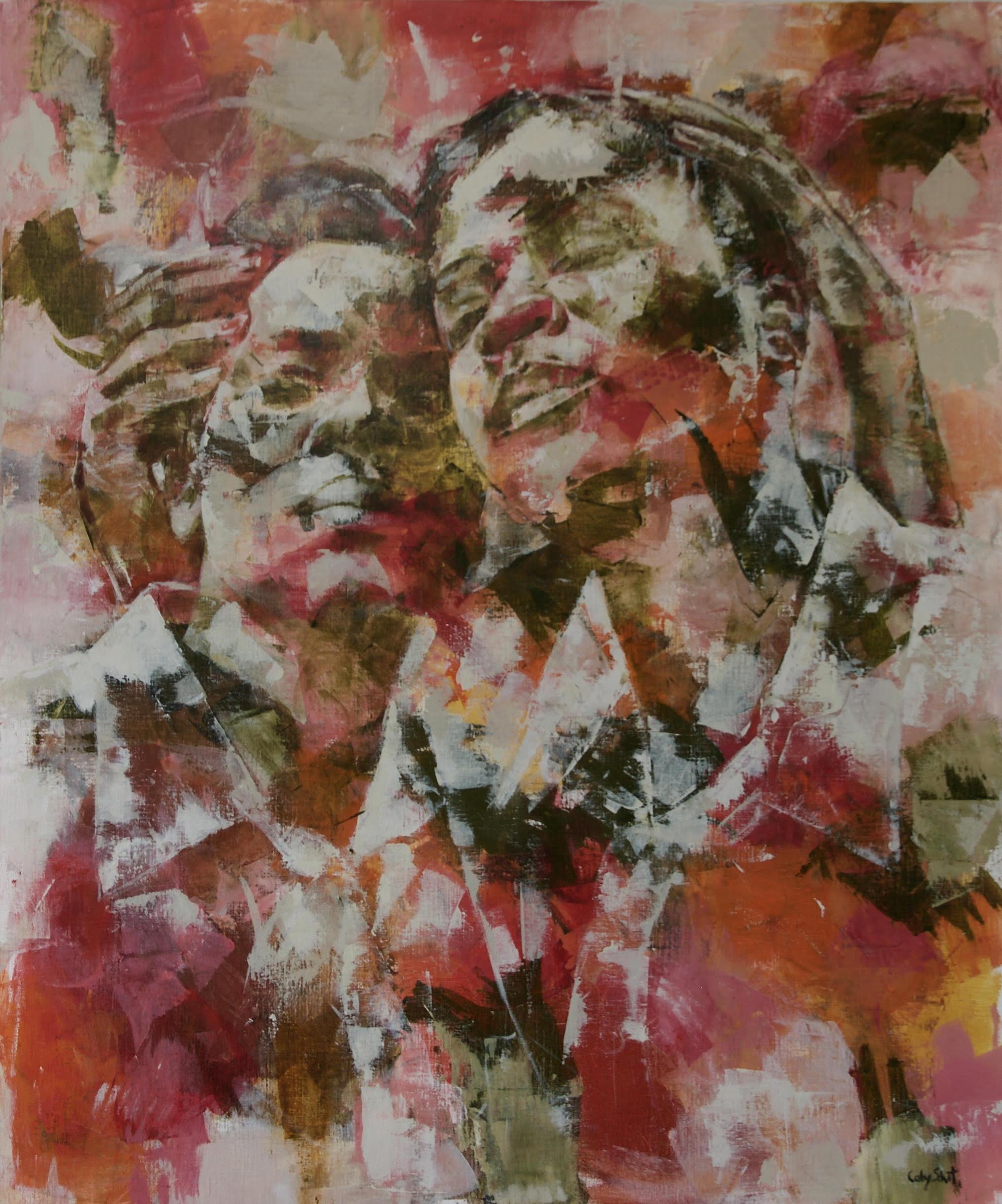 Kunst: Zussen van kunstenaar Coby Schot