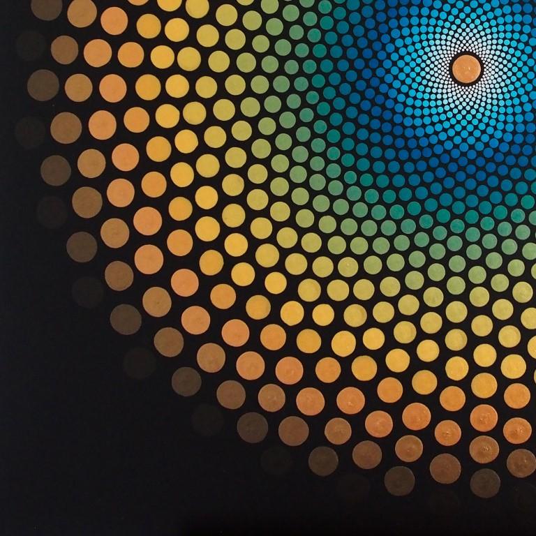 Kunst: Flow van kunstenaar Marlies Geldof