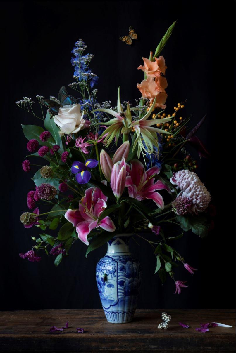 Kunst: Flowers #7 van kunstenaar Iris Gonzalez
