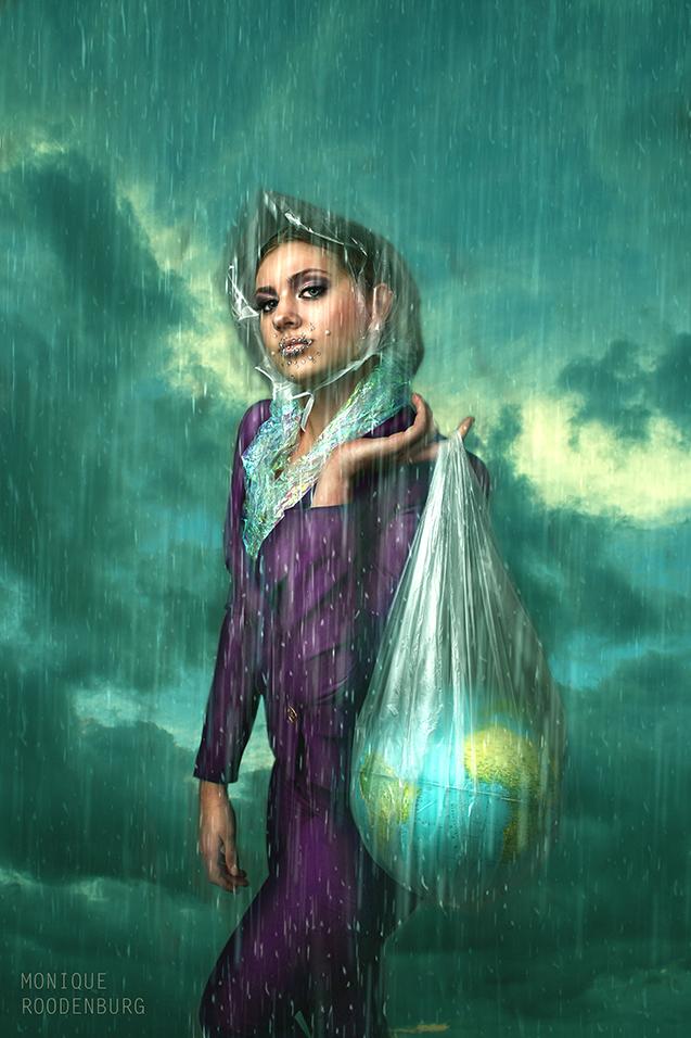 Kunst: Global van kunstenaar Monique Roodenburg