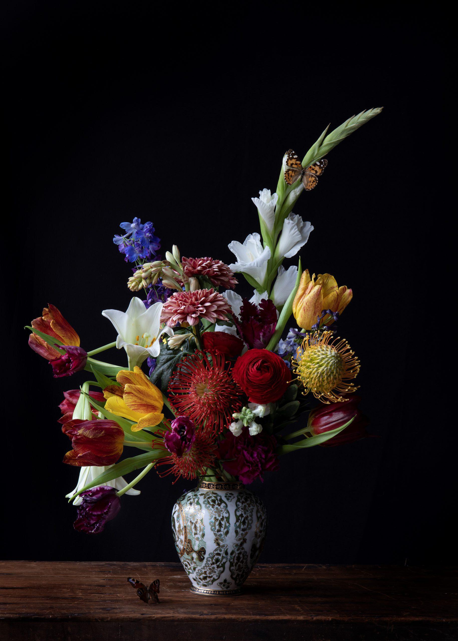 Kunst: Glorious Gladiolus van kunstenaar Iris Gonzalez