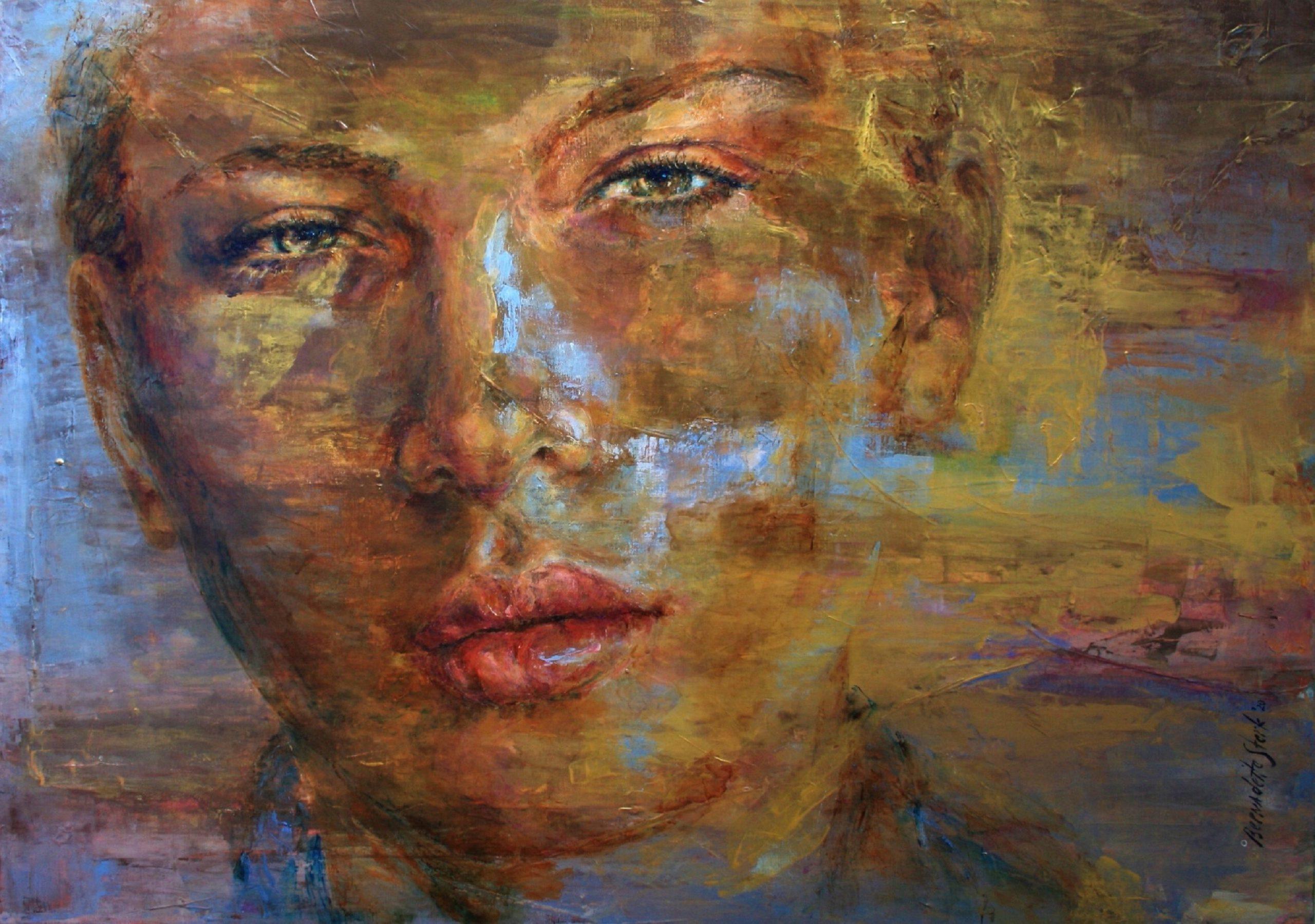 Kunst: I Belong to Myself van kunstenaar Bernadette Sterk