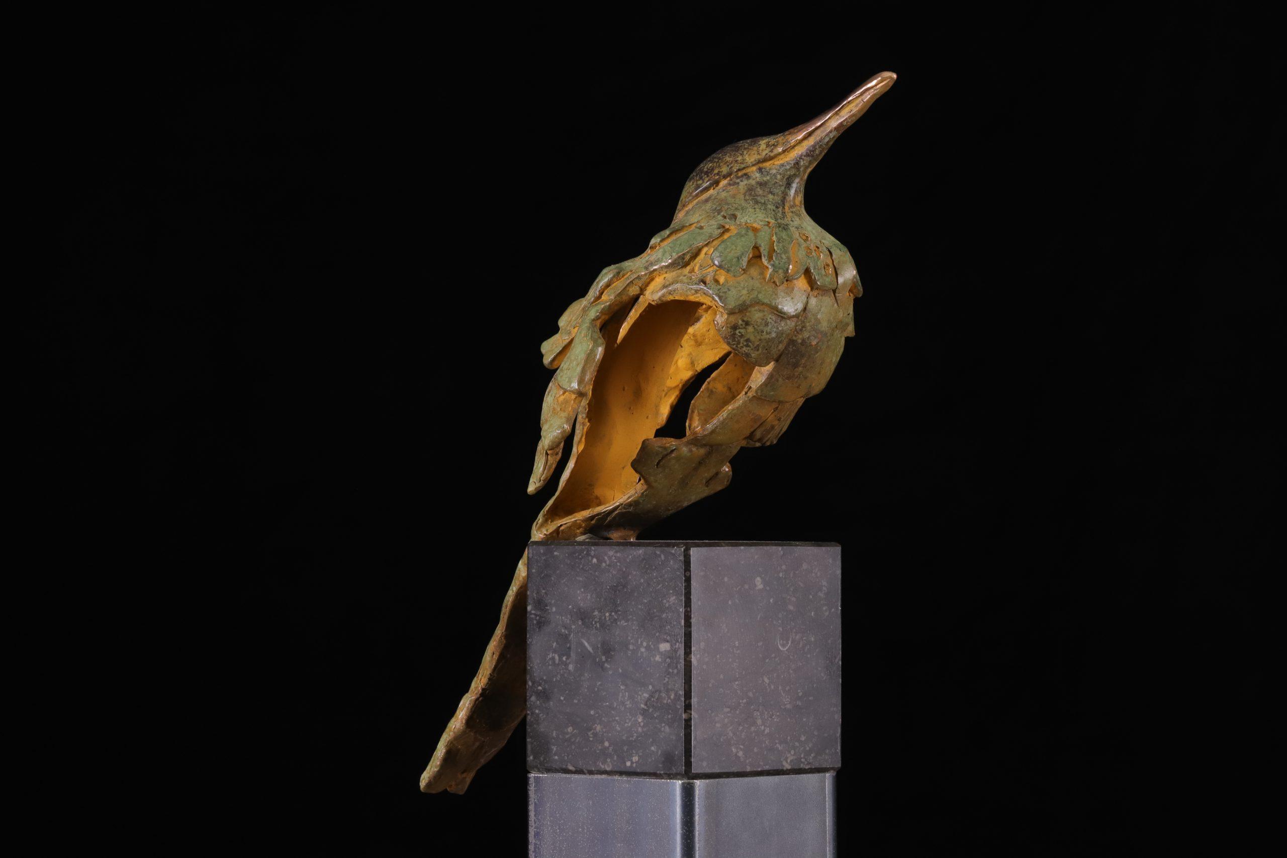 Kunst: Muslukt (L219089) van kunstenaar Leny Franken