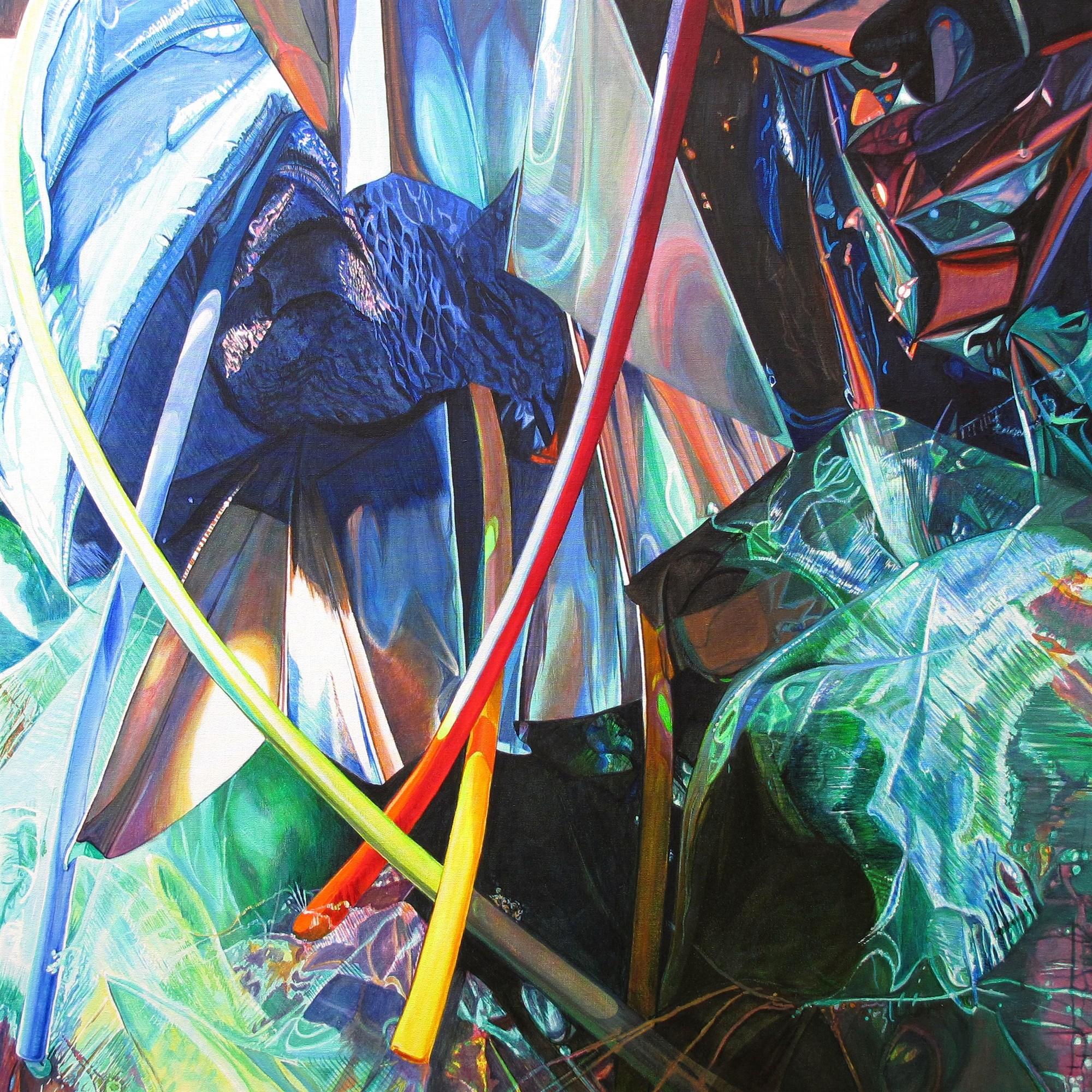 Kunst: Mysterious Maze van kunstenaar Lidy Scholten