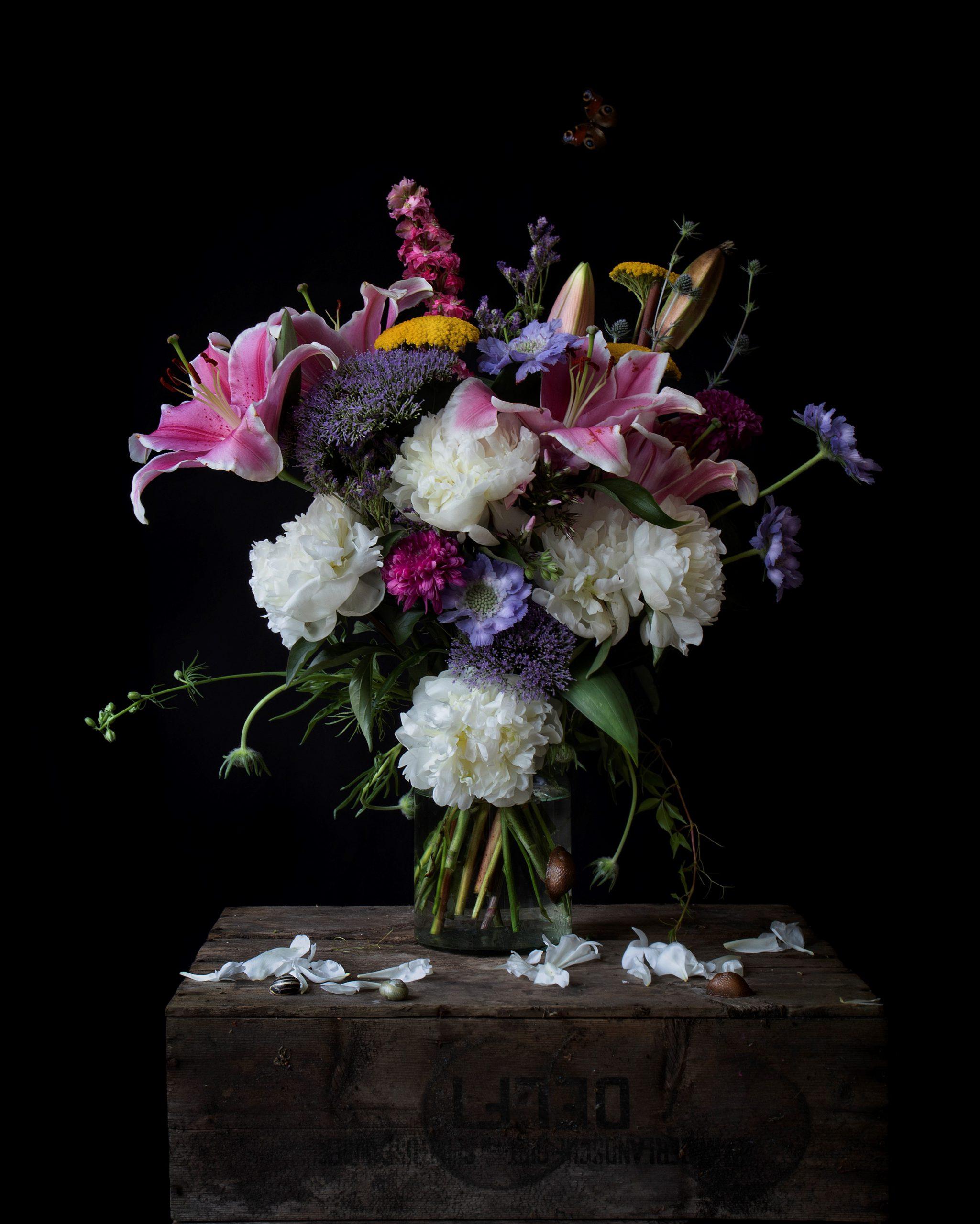 Kunst: Nieve de las Peonias van kunstenaar Iris Gonzalez