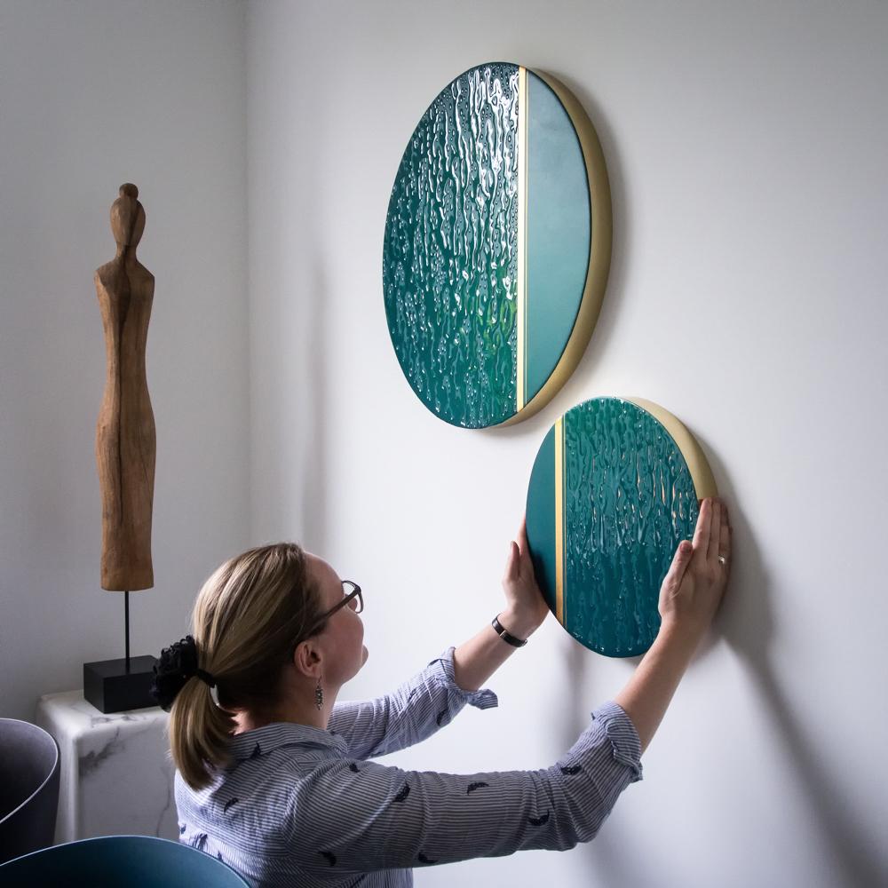 Kunst: November Rain van kunstenaar Marlies Geldof