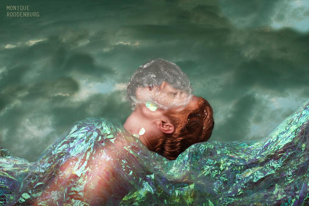 Kunst: Plastic fantastic II van kunstenaar Monique Roodenburg