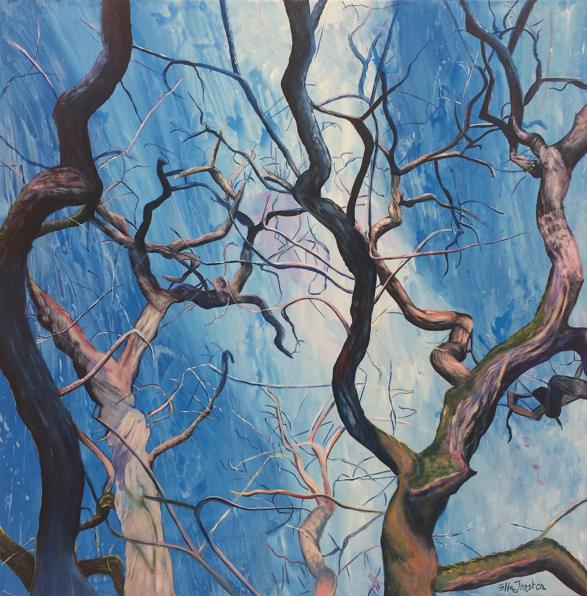 Kunst: Reflection 10 van kunstenaar Ella Joosten