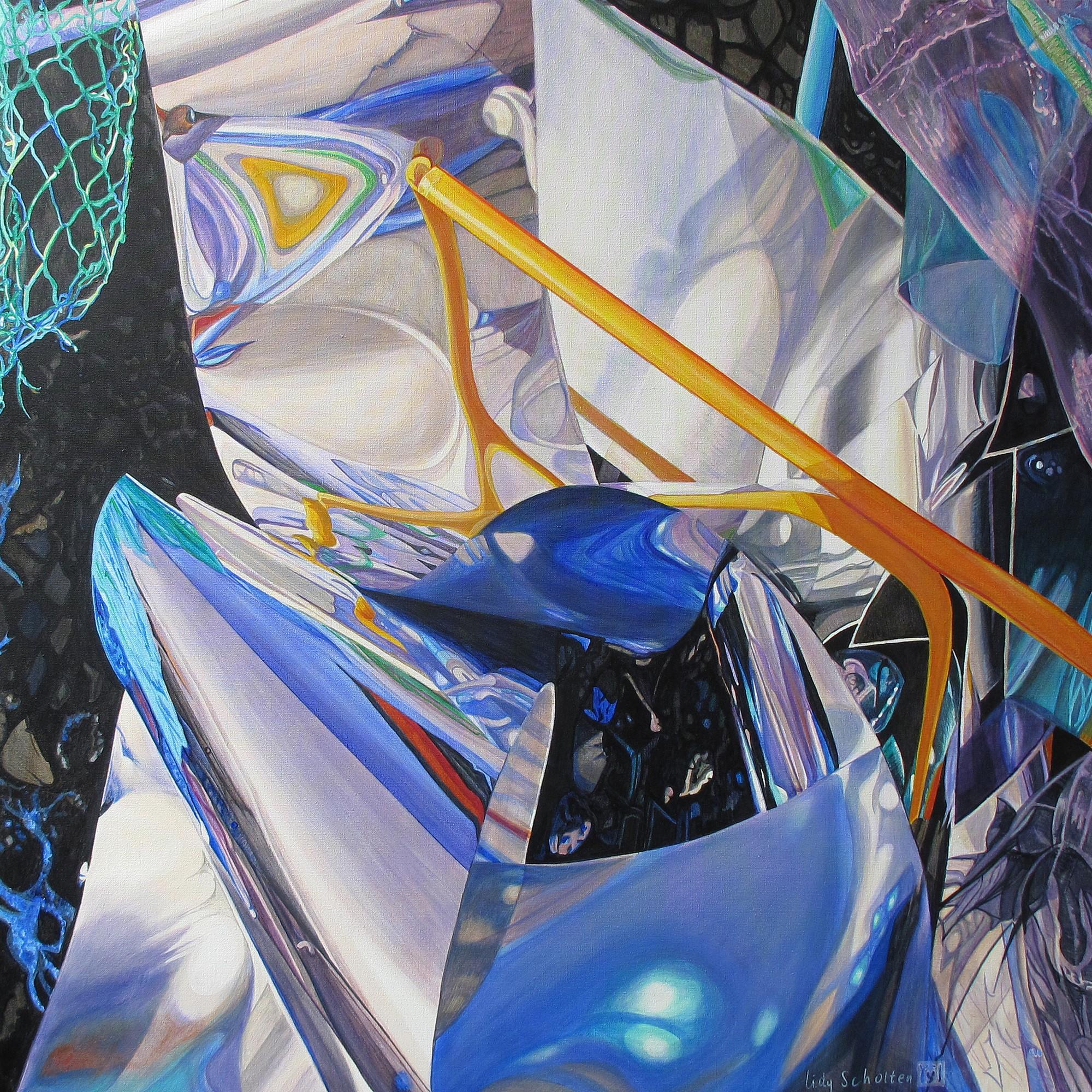 Kunst: Spiritual Balance van kunstenaar Lidy Scholten