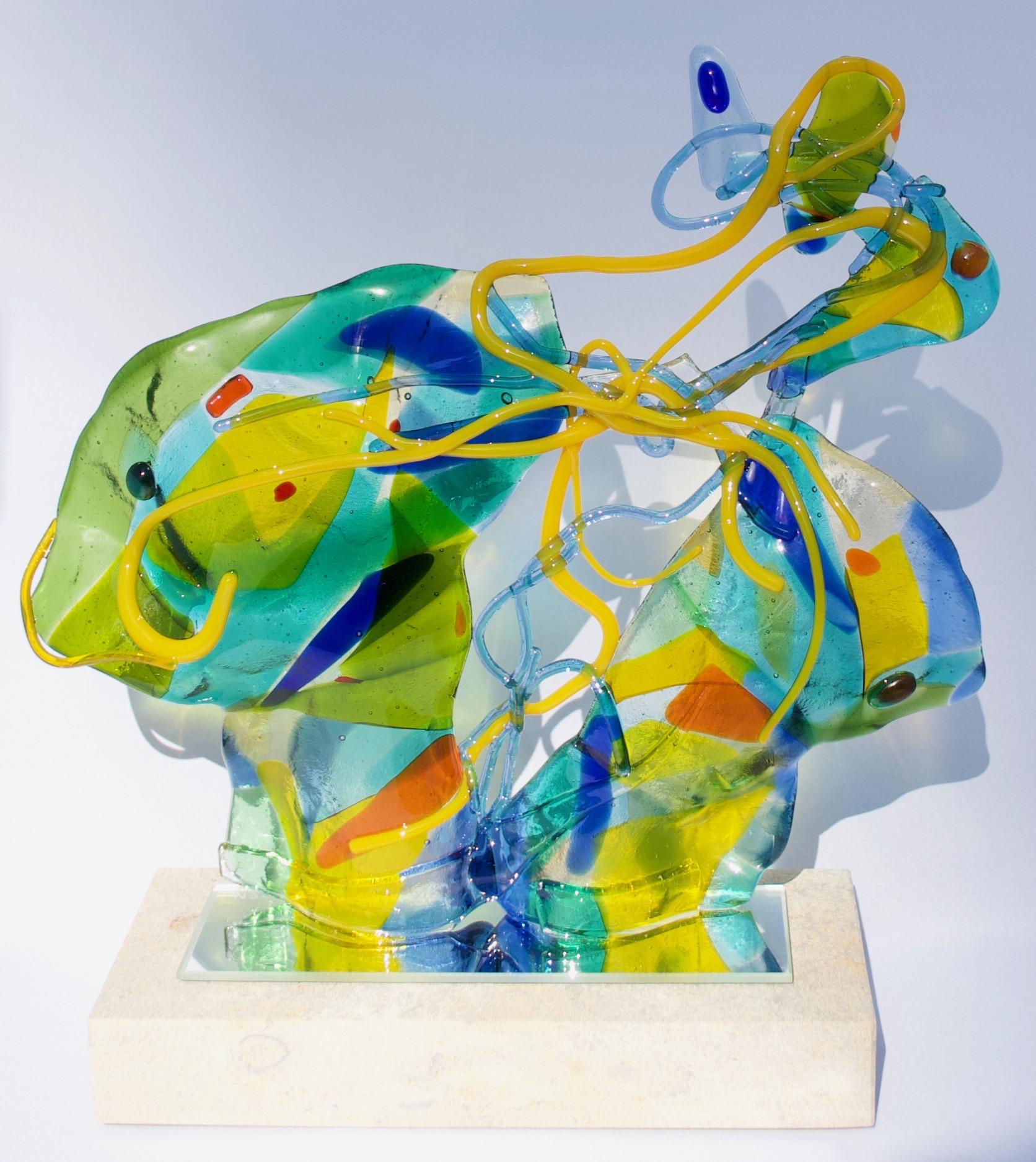 Kunst: Spitting Image van kunstenaar Angenelle Thijssen