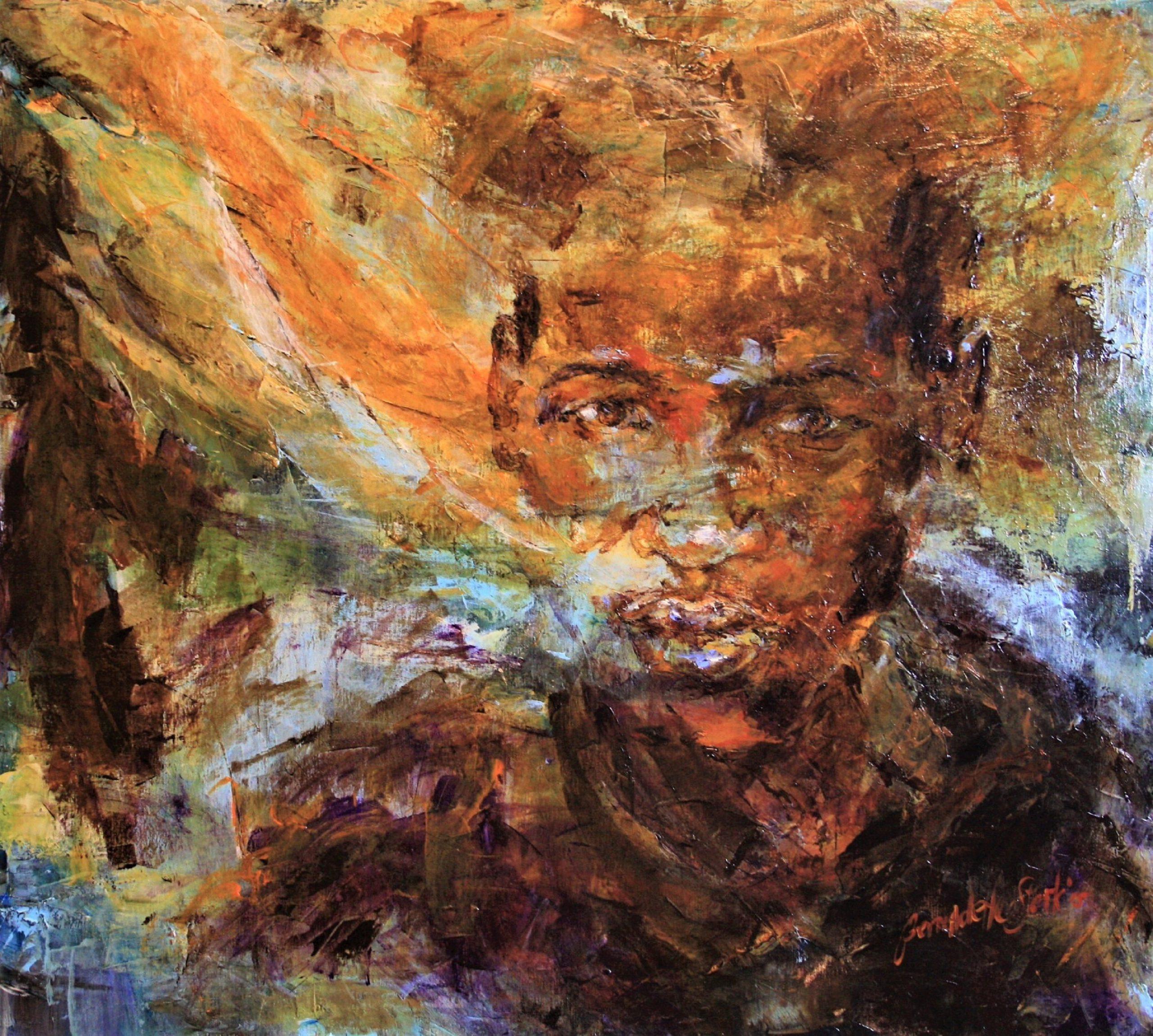 Kunst: Titel Golden van kunstenaar Bernadette Sterk