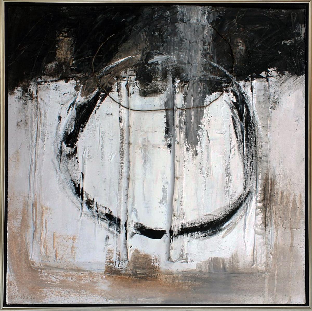 Kunst: Abstract 70-02 van kunstenaar Lydia van Domburgh
