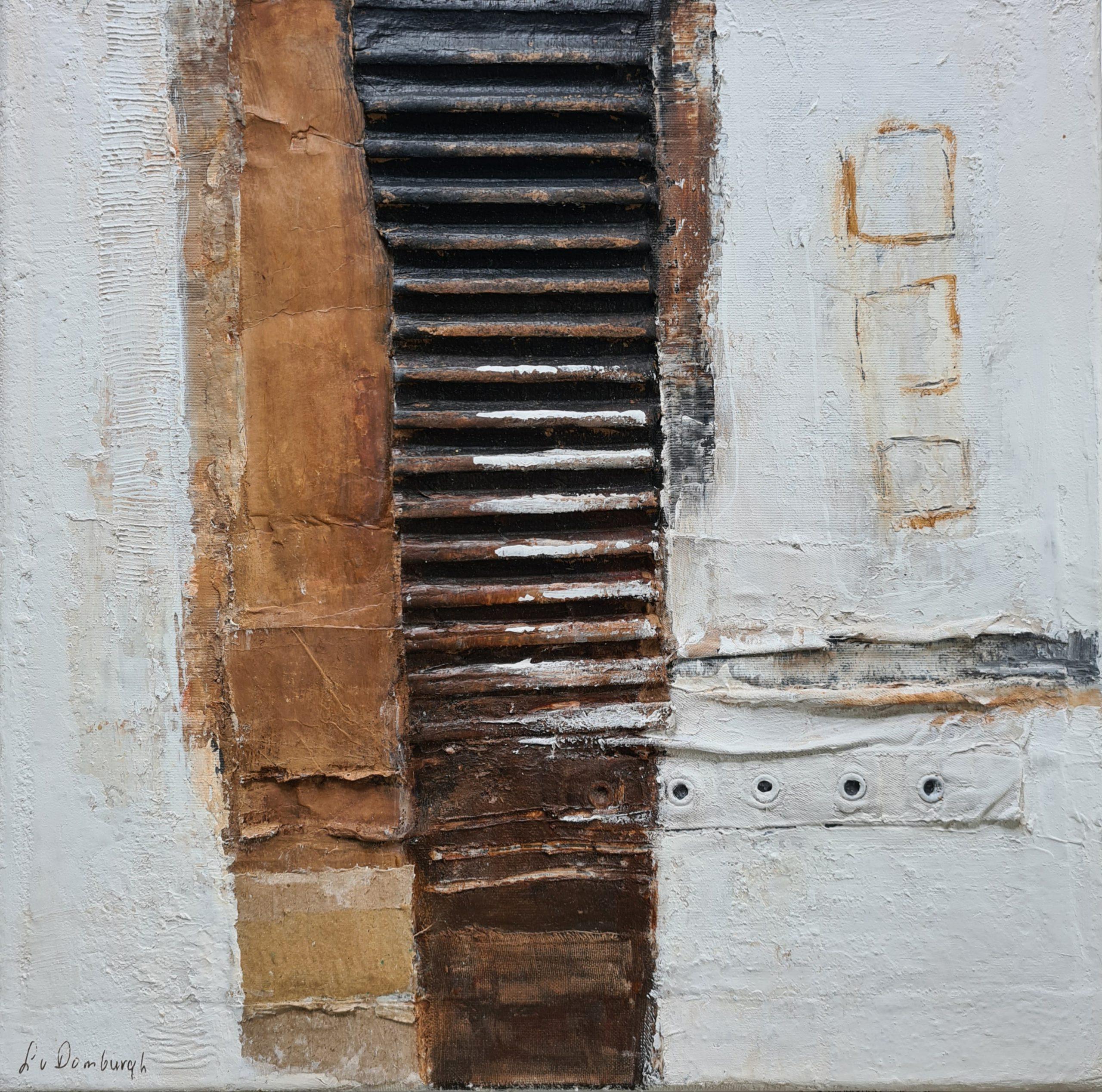 Kunst: Abstract I van kunstenaar Lydia van Domburgh