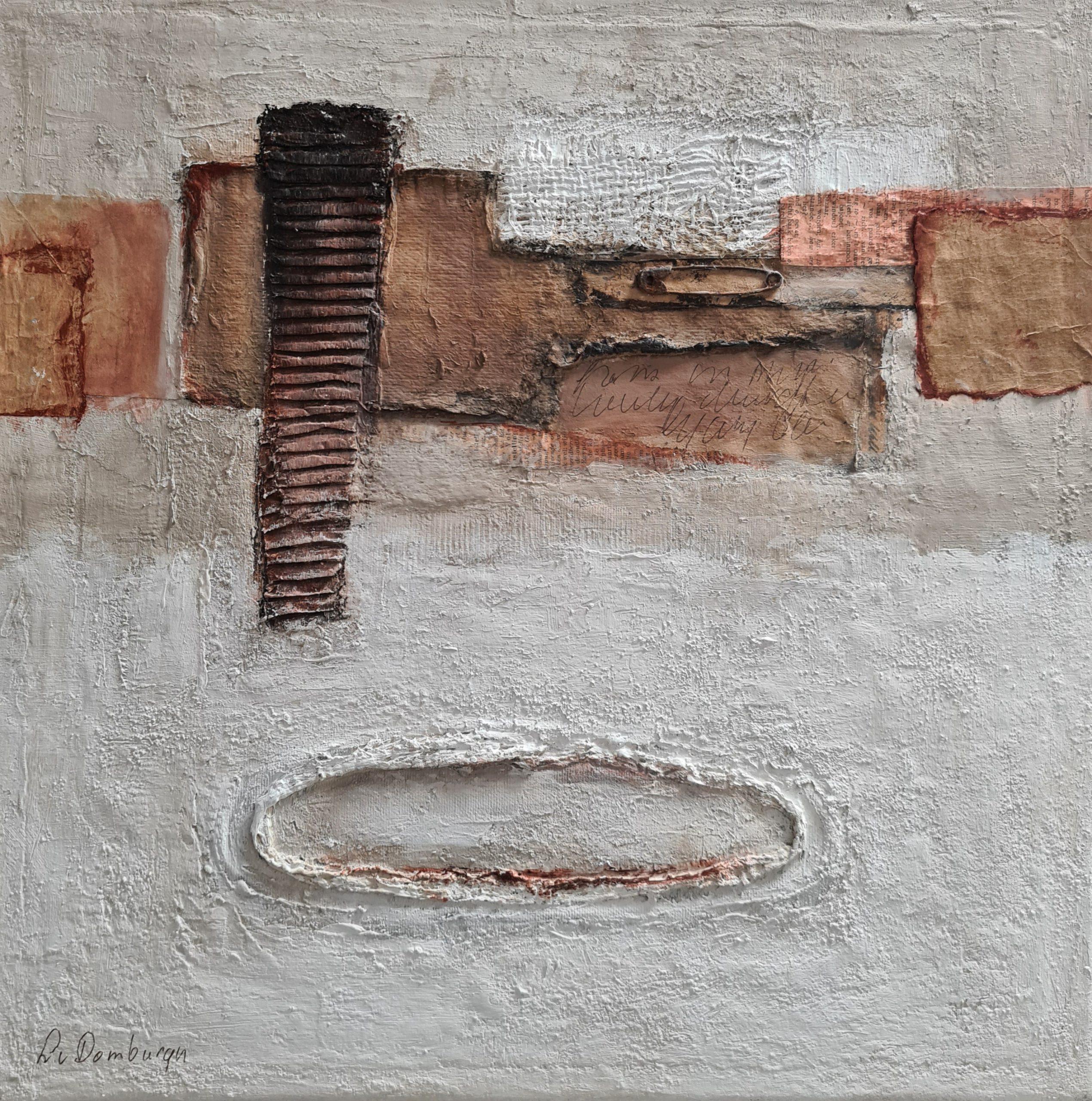 Kunst: Abstract II van kunstenaar Lydia van Domburgh