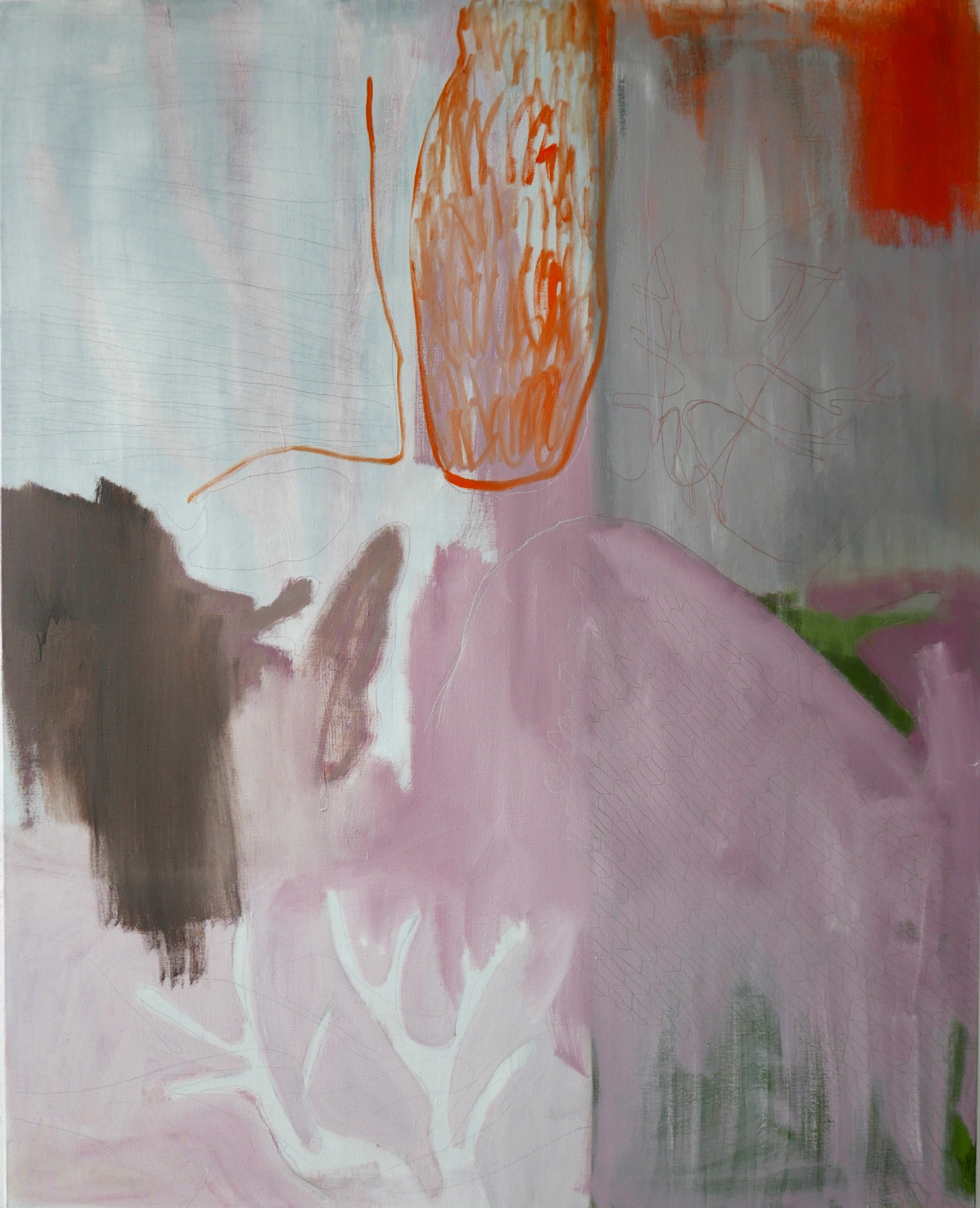 Kunst: Fragments of a landscape van kunstenaar Lou Vos
