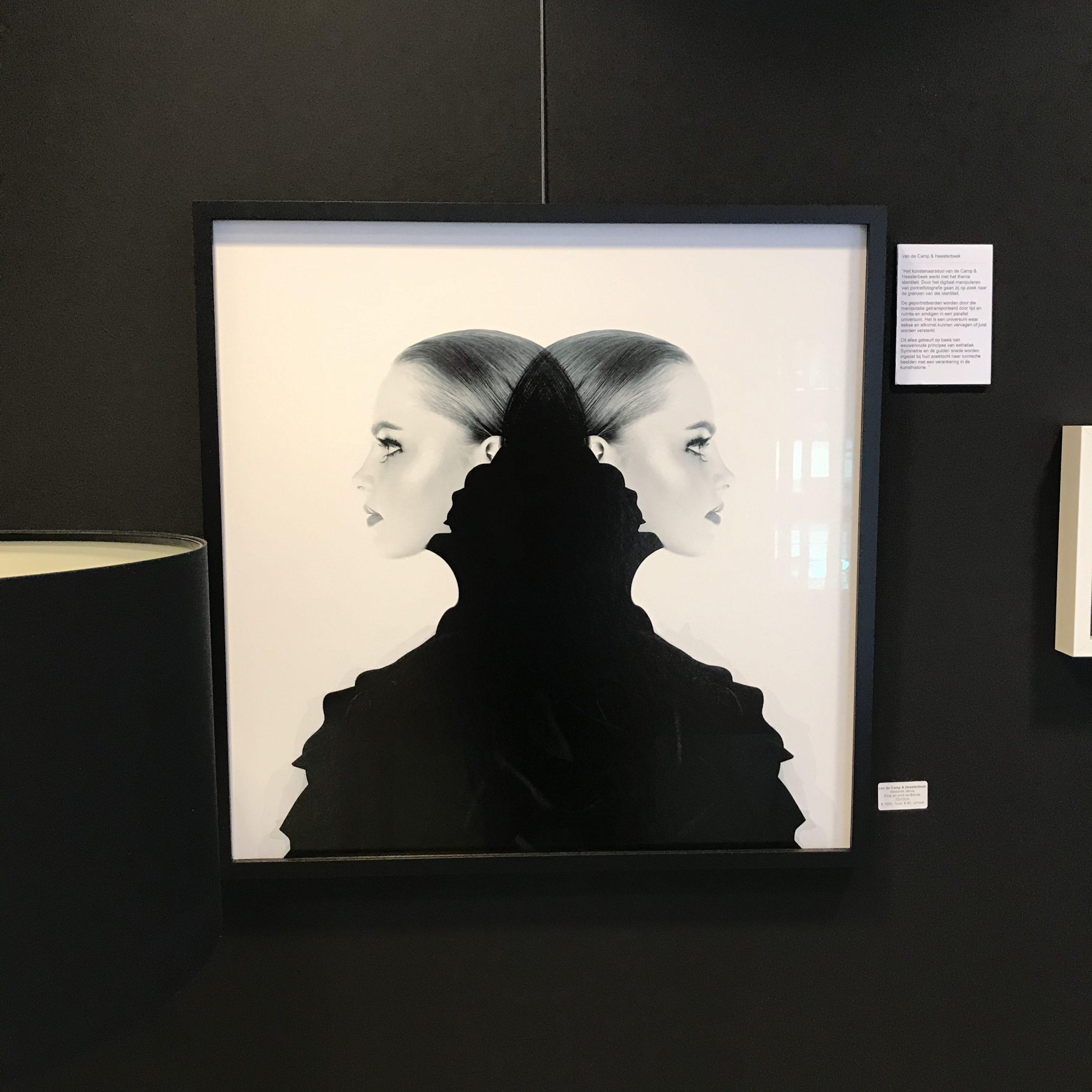 Kunst: Mademoiselle Janus (2050-184) van kunstenaar van de Camp &  Heesterbeek