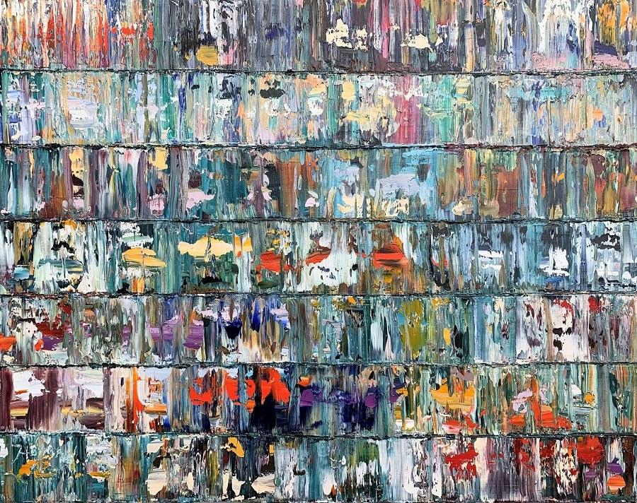 Kunst: Fanna, Pacific. van kunstenaar Rinus Hofman