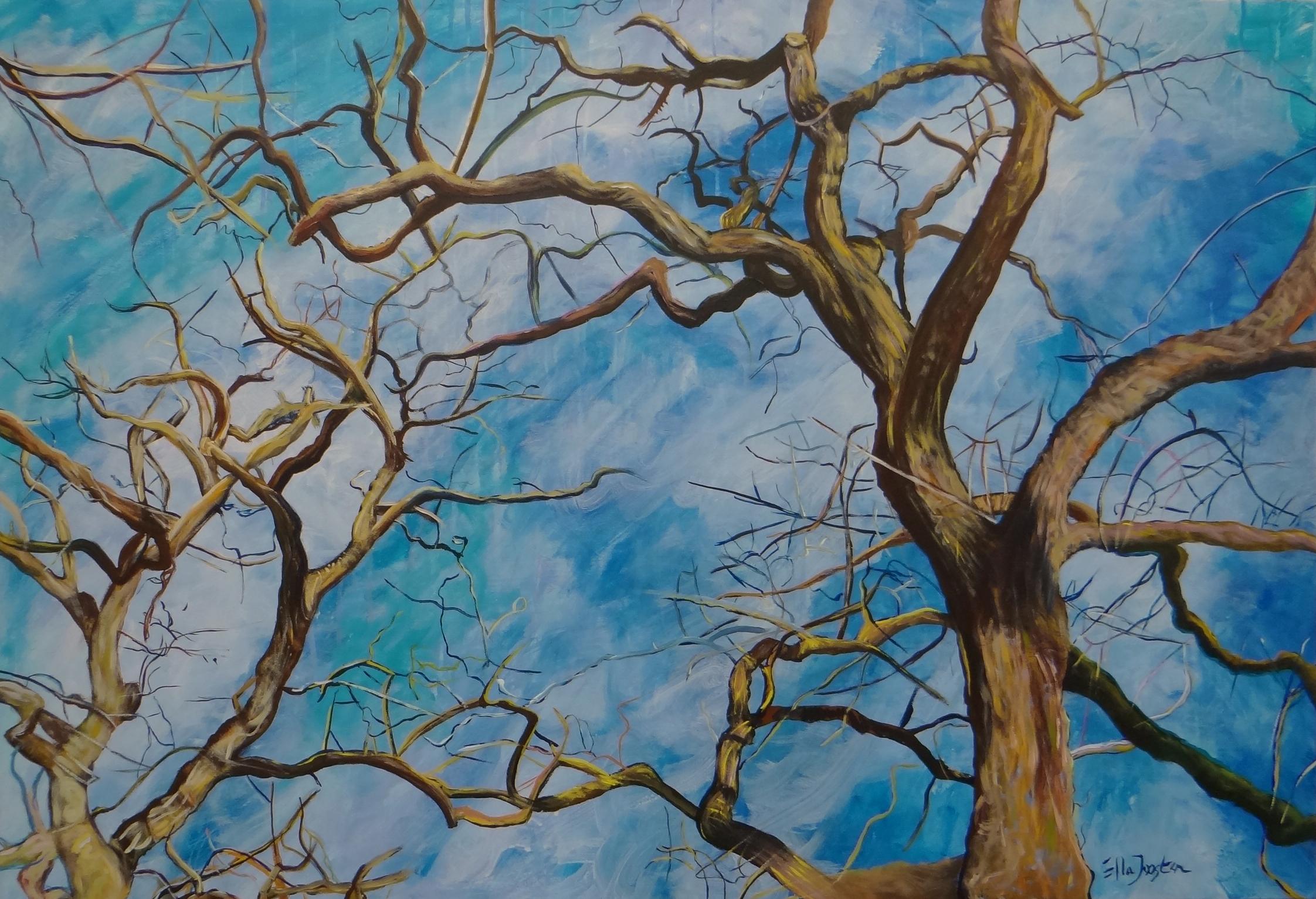 Kunst: Reflection 11 van kunstenaar Ella Joosten