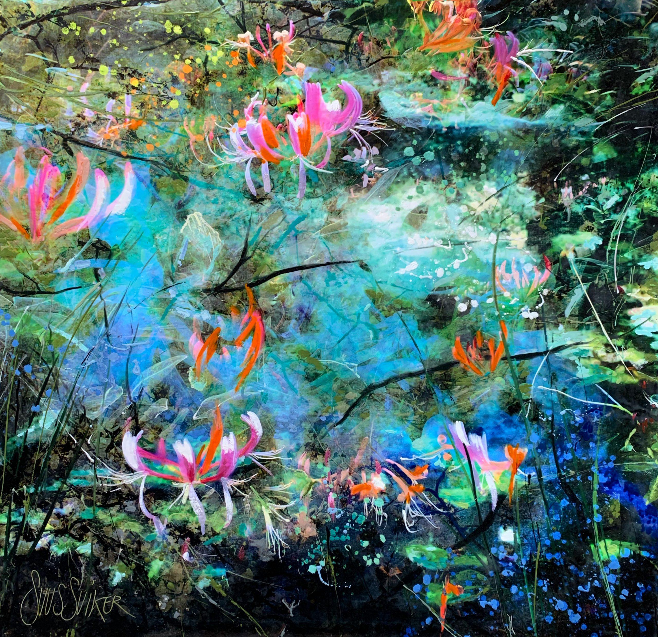Kunst: Symbiose 120-08 van kunstenaar Suus Suiker