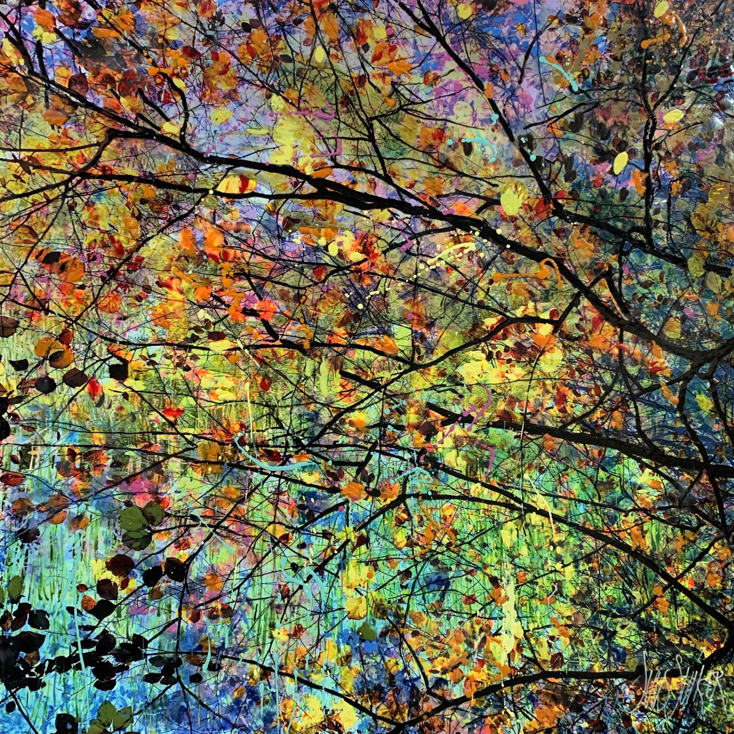 Kunst: Symbiose 70-14 van kunstenaar Suus Suiker