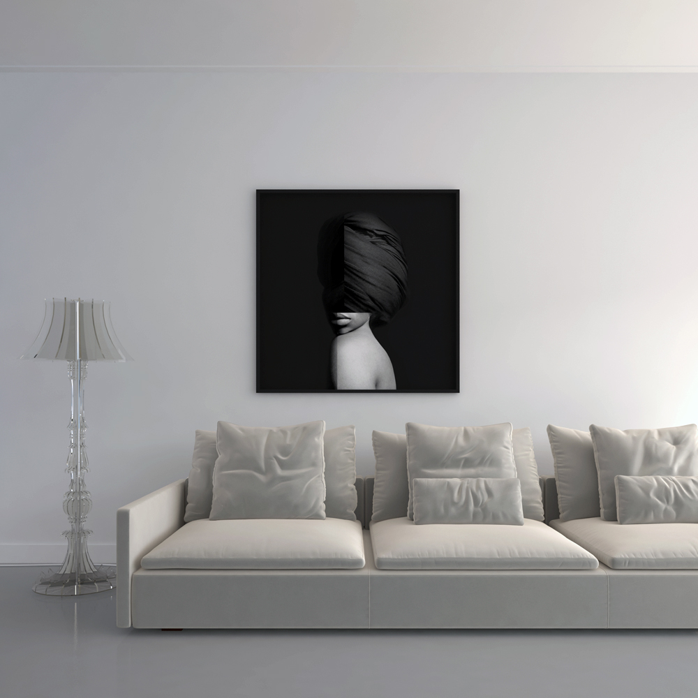 Kunst: 2050-17 (tulband) van kunstenaar van de Camp &  Heesterbeek