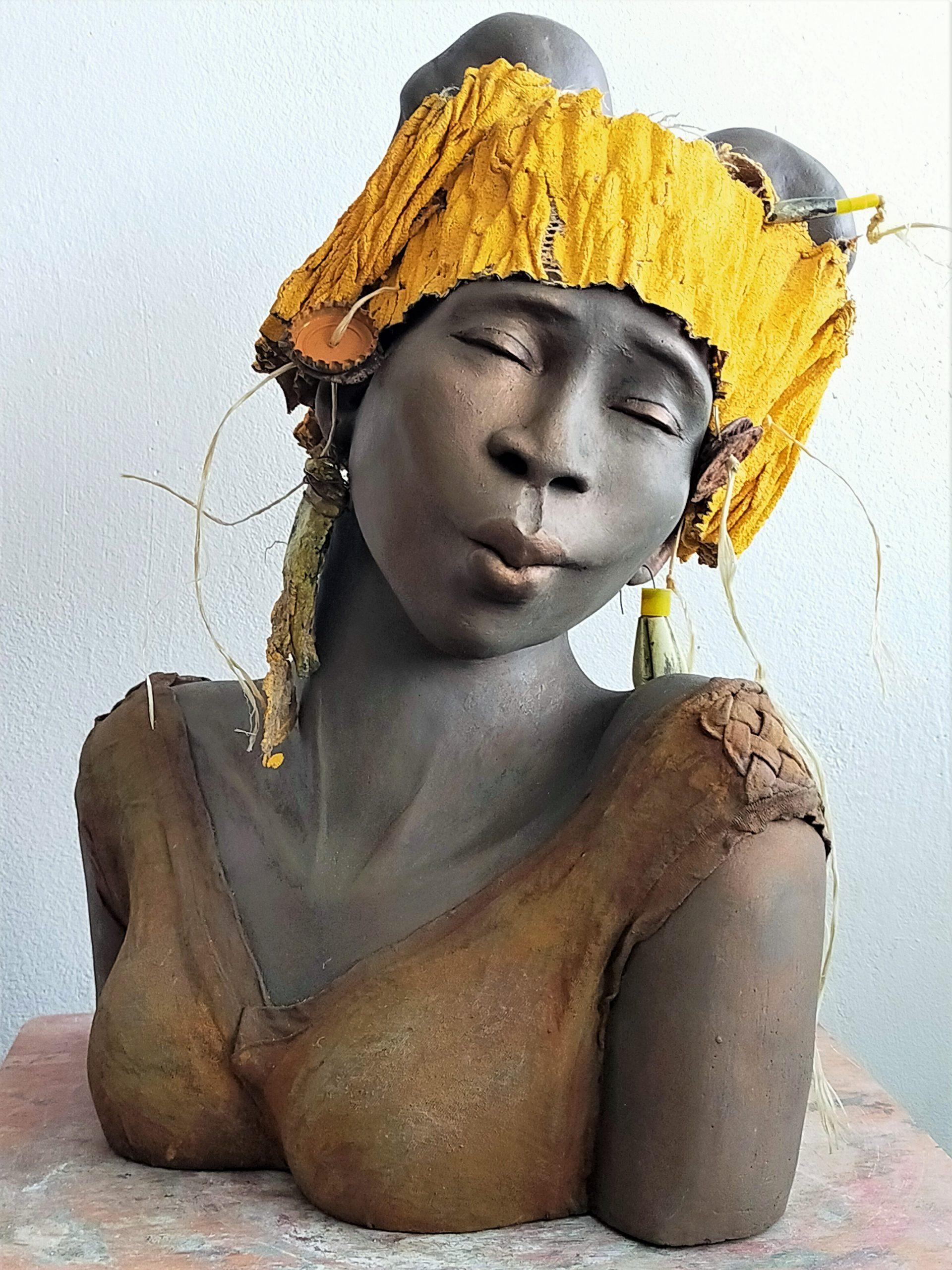 Kunst: Ayoola – Joy van kunstenaar Lilian Wessels