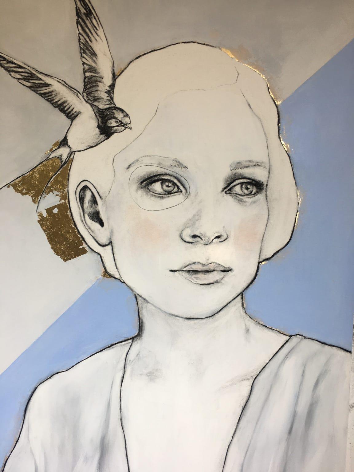 Kunst: Bright thoughts van kunstenaar Greetje van den Heiligenberg