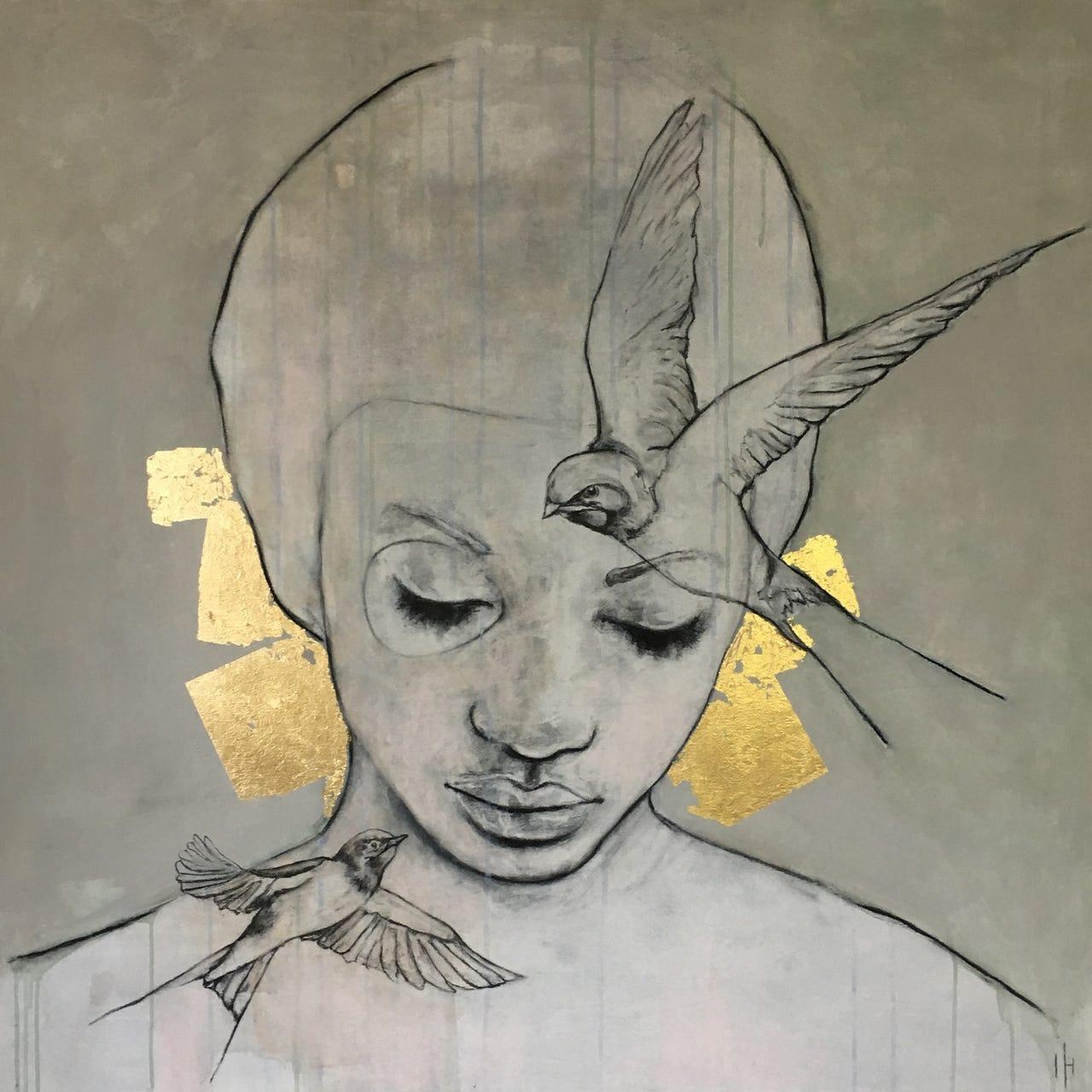 Kunst: Free mind van kunstenaar Greetje van den Heiligenberg