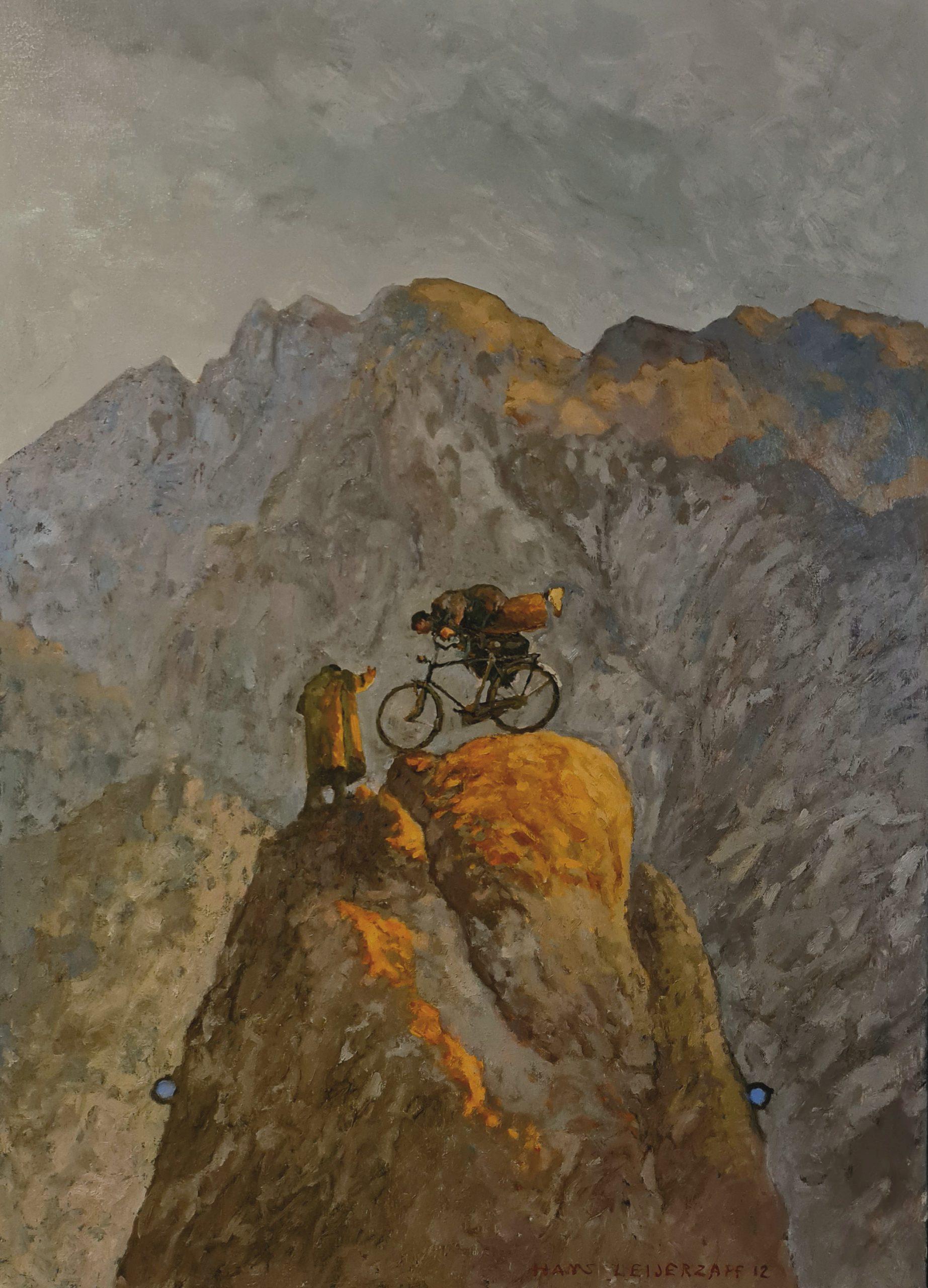Kunst: Hoger kan nog van kunstenaar Hans Leijerzapf