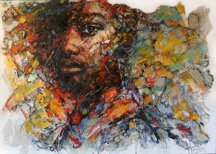 Kunst: Jabari van kunstenaar Evelyn Hamilton