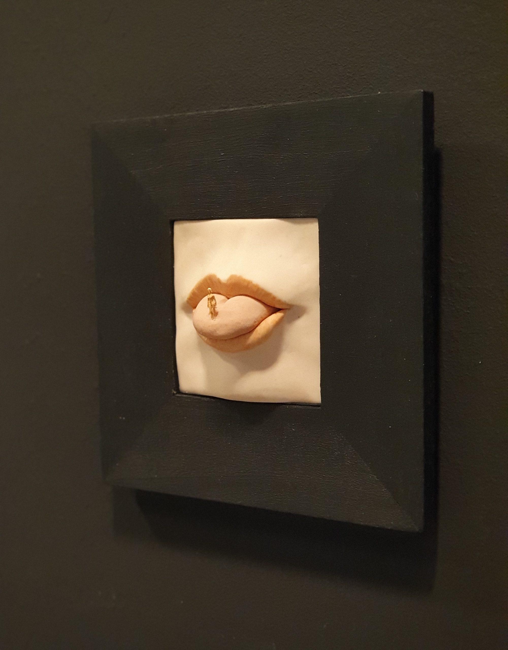 Kunst: Op het puntje van mijn tong van kunstenaar Saskia Hoeboer