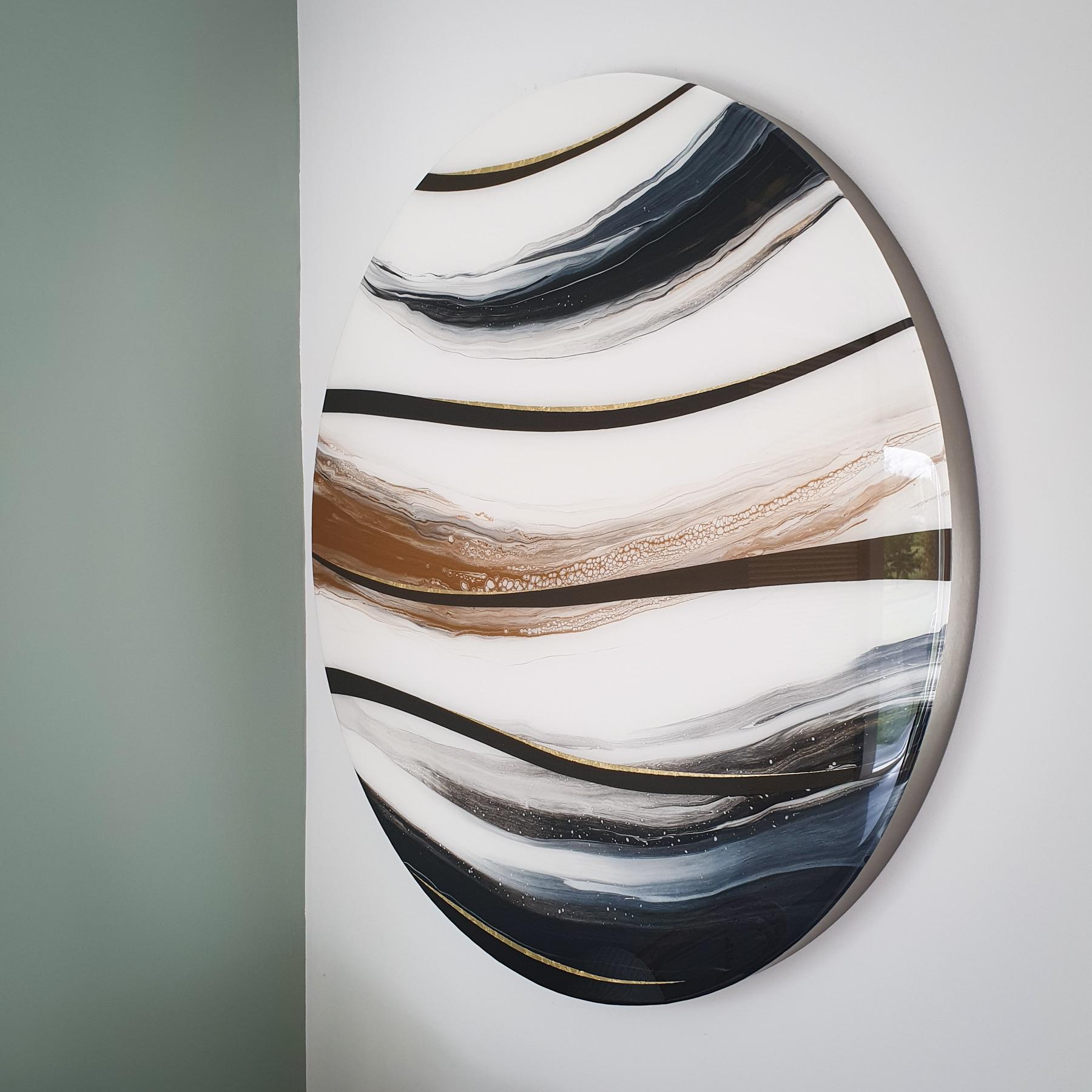 Kunst: Planet gold van kunstenaar Marlies Geldof