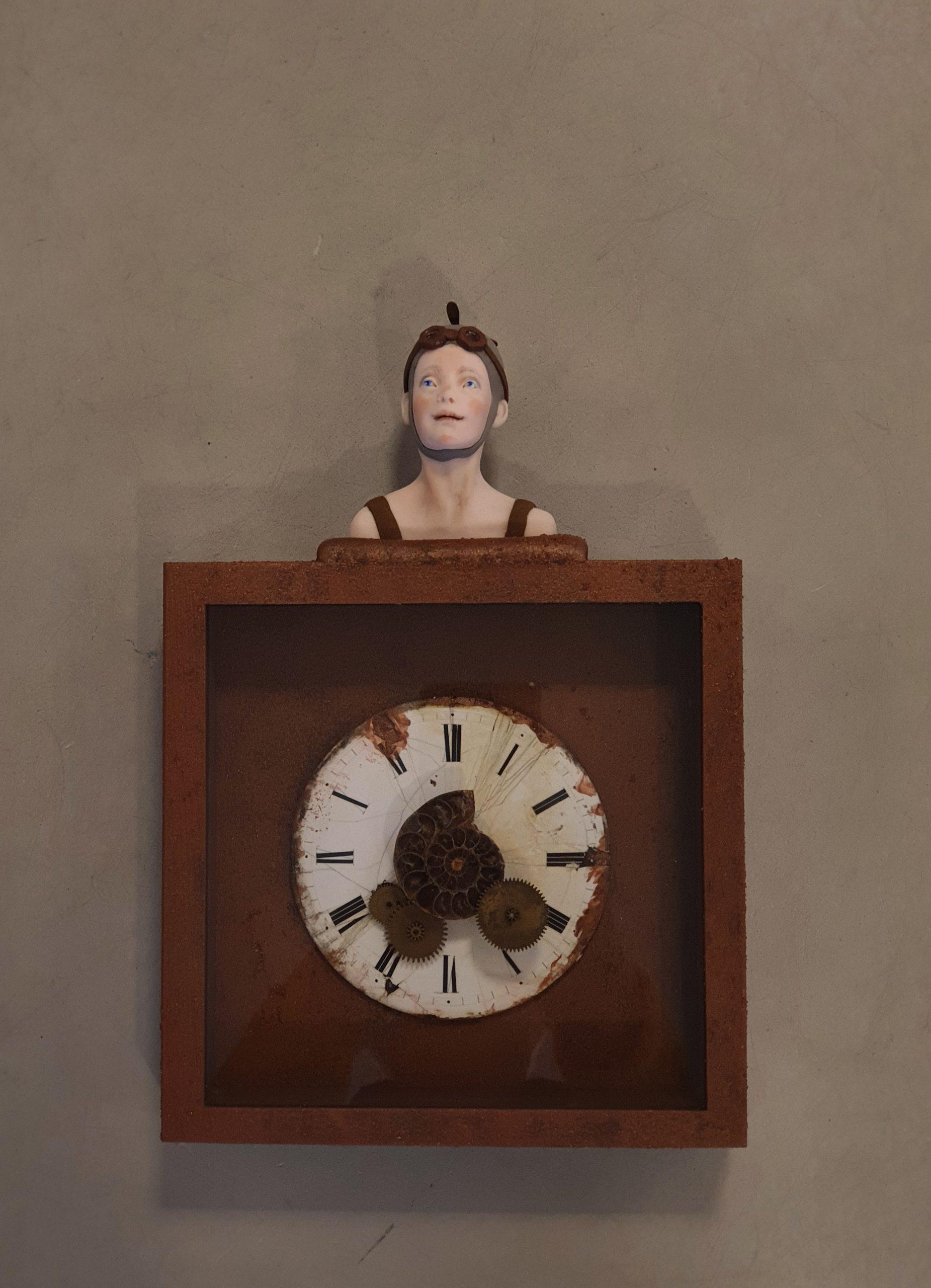 Kunst: Waar blijft de tijd van kunstenaar Saskia Hoeboer