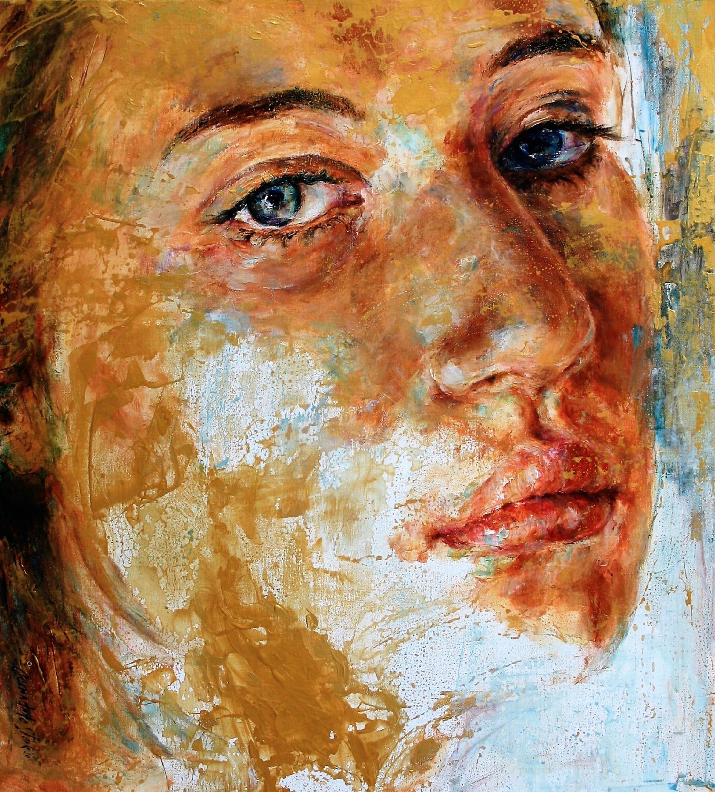 Kunst: A Strong and Brave Heart van kunstenaar Bernadette Sterk