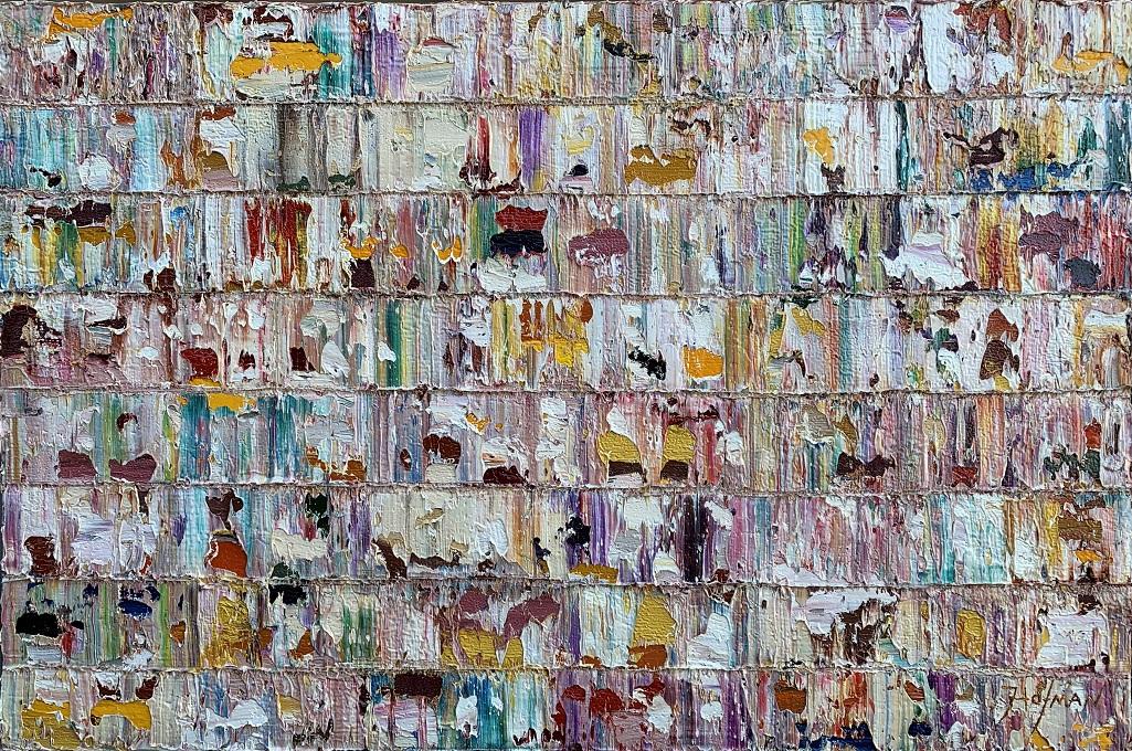 Kunst: Arnarvon,  Pacific van kunstenaar Rinus Hofman