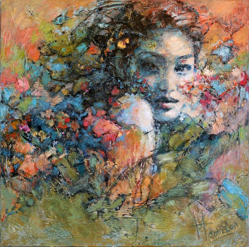 Kunst: Femme van kunstenaar Evelyn Hamilton
