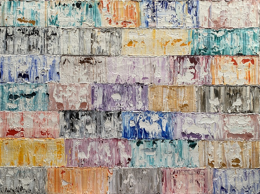 Kunst: Furona, Pacific van kunstenaar Rinus Hofman