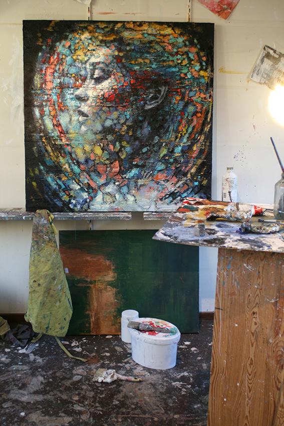 Kunst: Me, Myself and I van kunstenaar Evelyn Hamilton