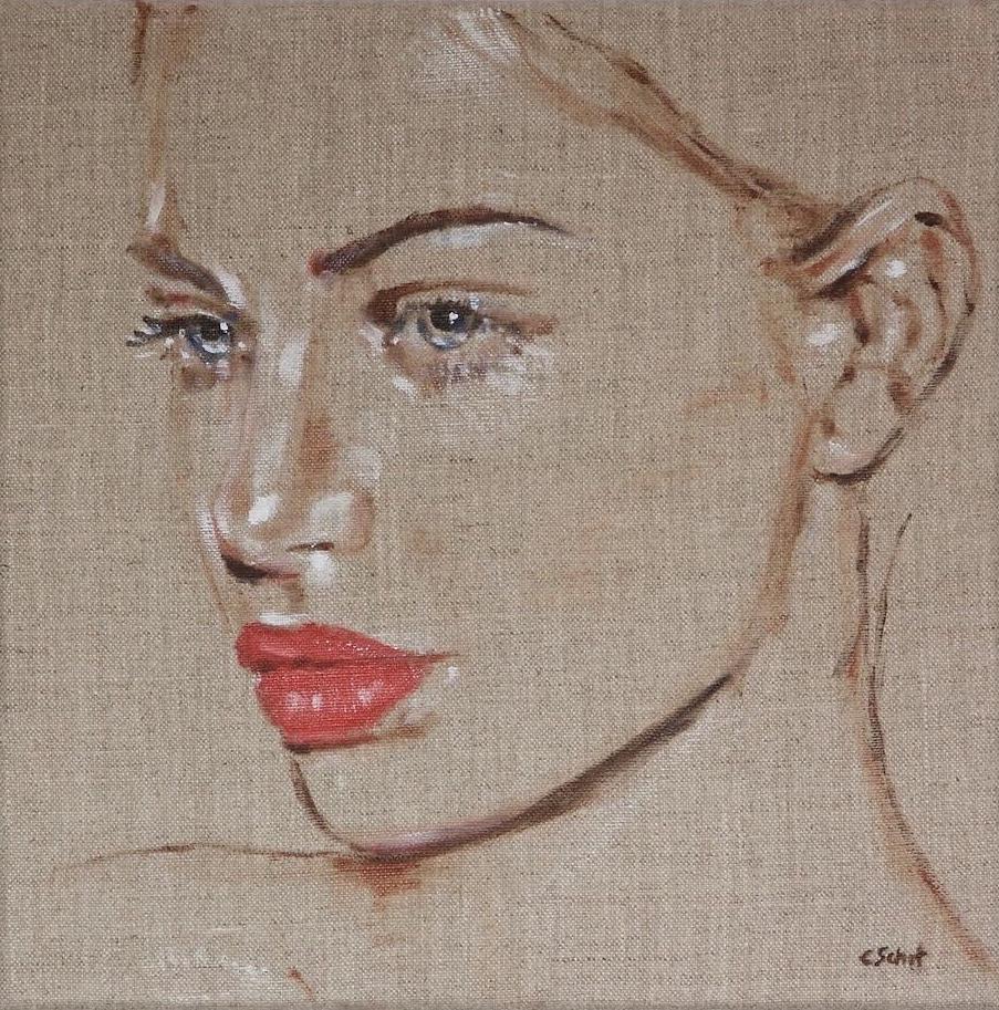Kunst: Red Only van kunstenaar Coby Schot