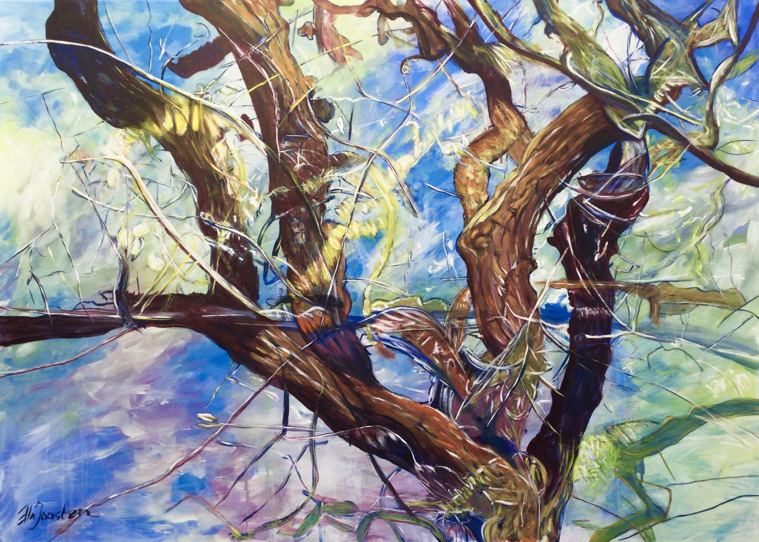Kunst: Reflection 13 van kunstenaar Ella Joosten