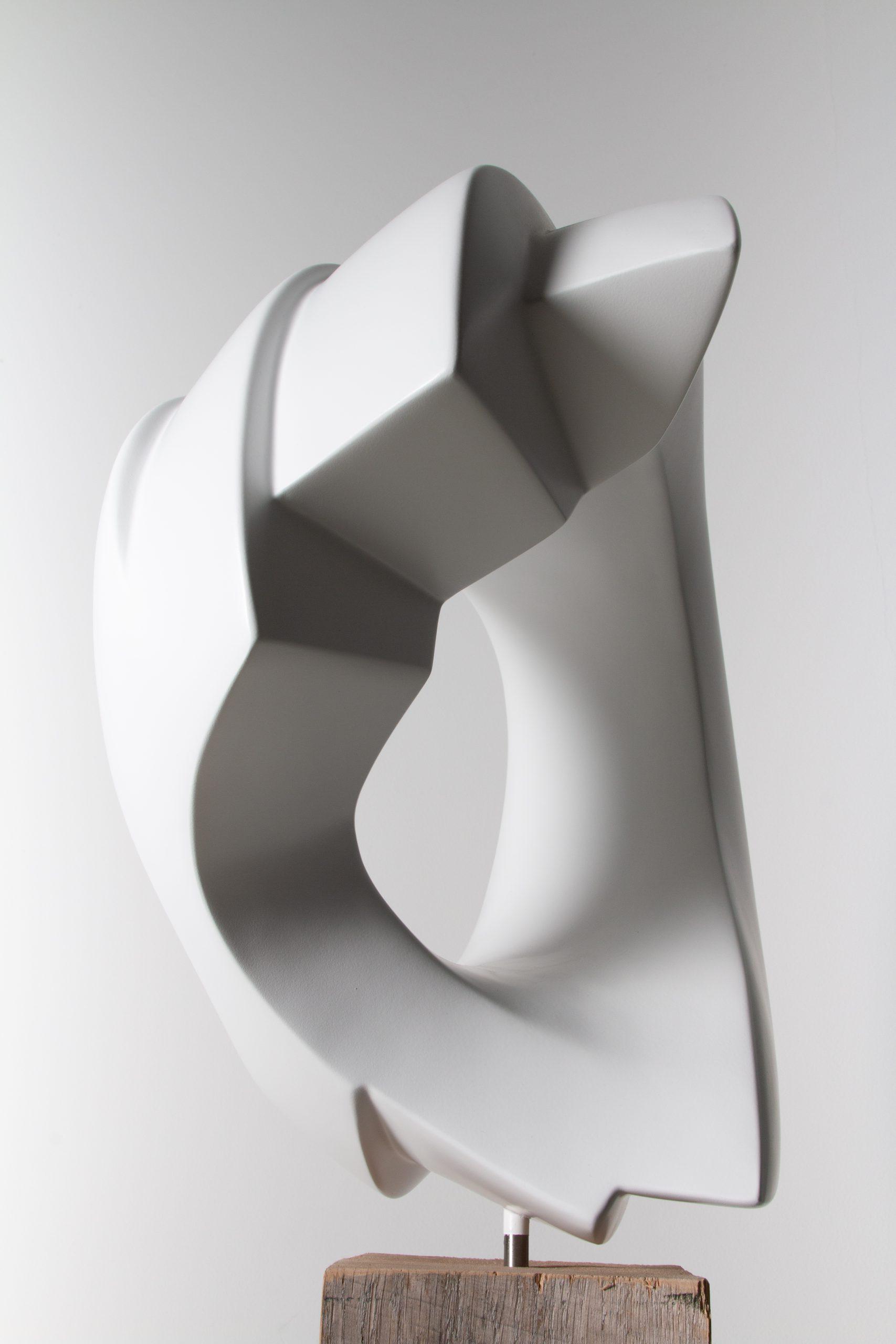 Kunst: White Lines van kunstenaar Monique Lipsch